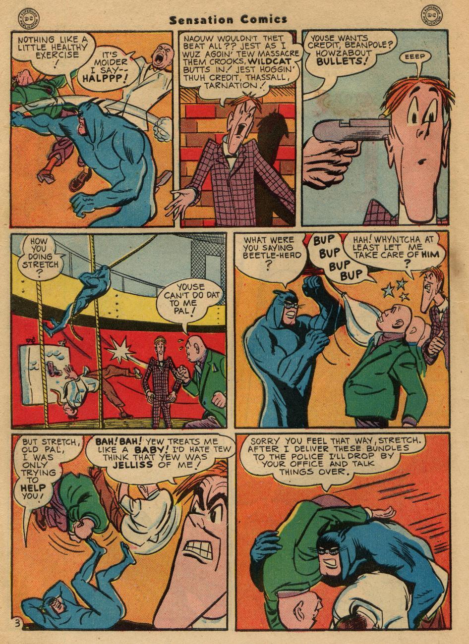 Read online Sensation (Mystery) Comics comic -  Issue #49 - 44