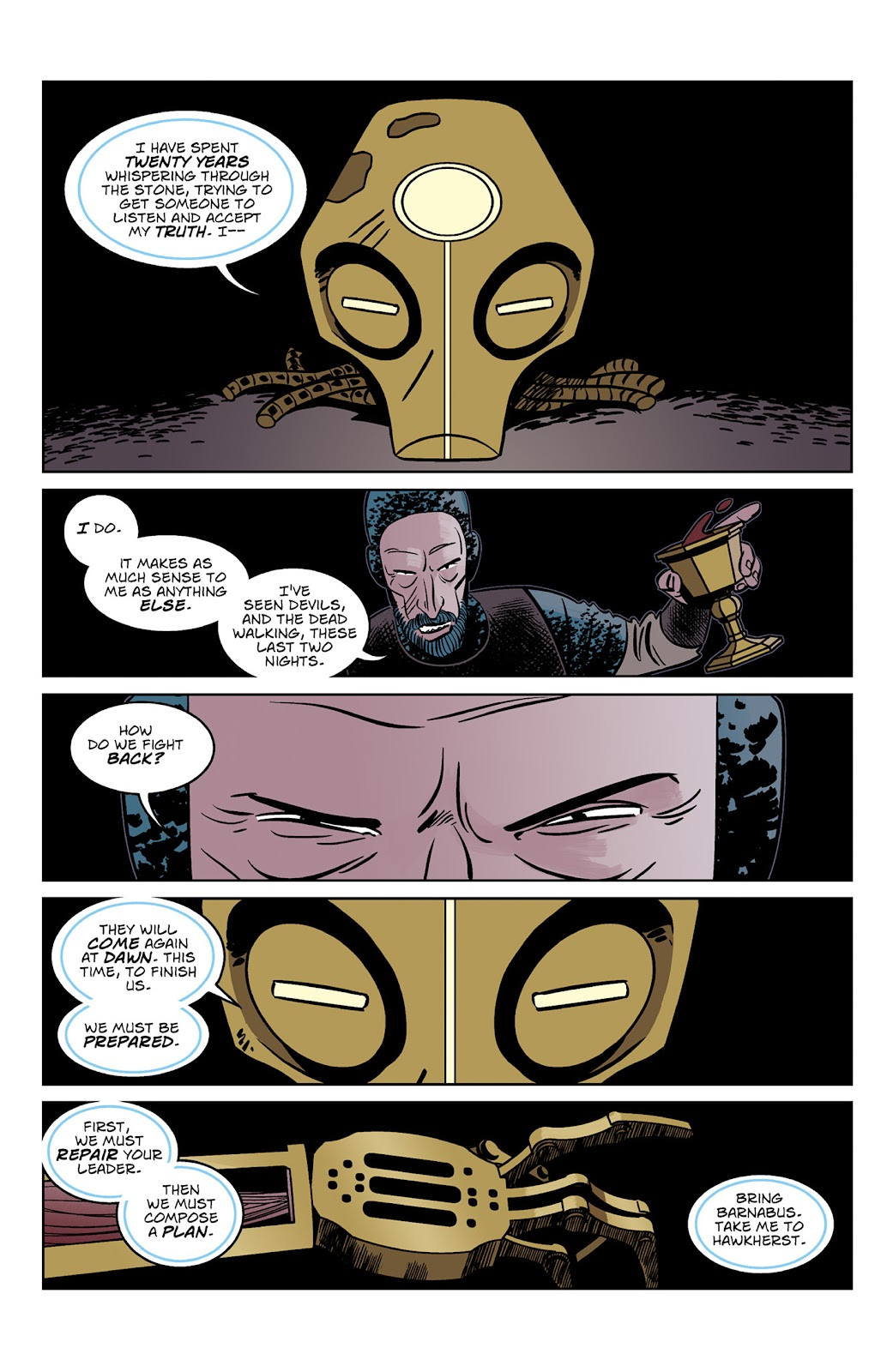Read online Dark Ages comic -  Issue #3 - 22