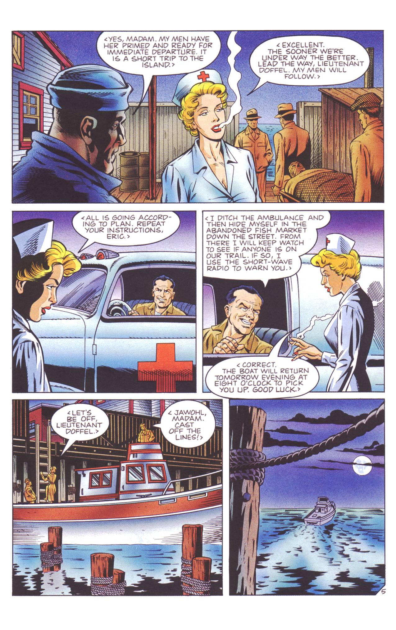 Read online Sting of The Green Hornet comic -  Issue #4 - 6