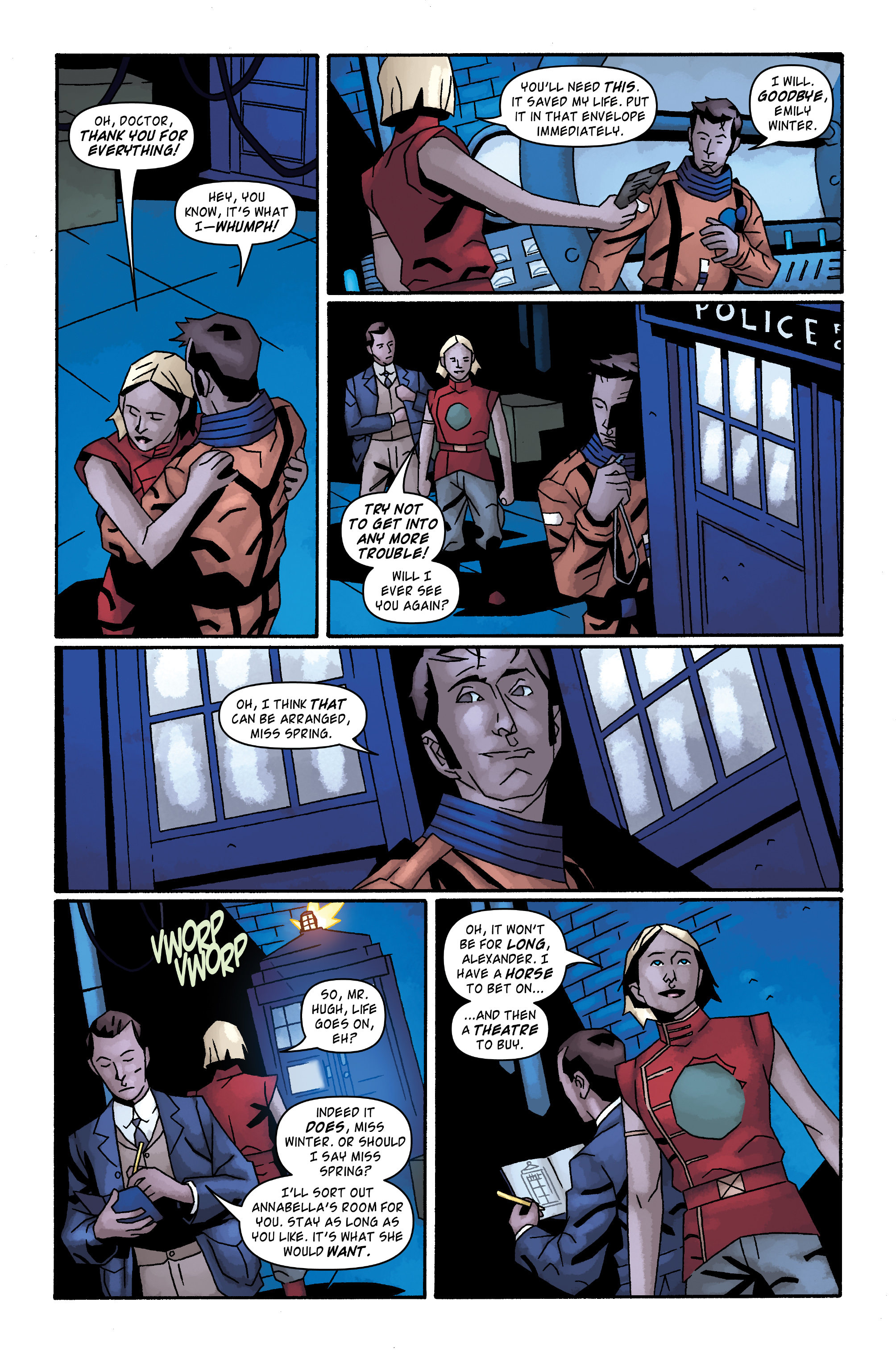 Read online Doctor Who: The Tenth Doctor Archives comic -  Issue #34 - 20