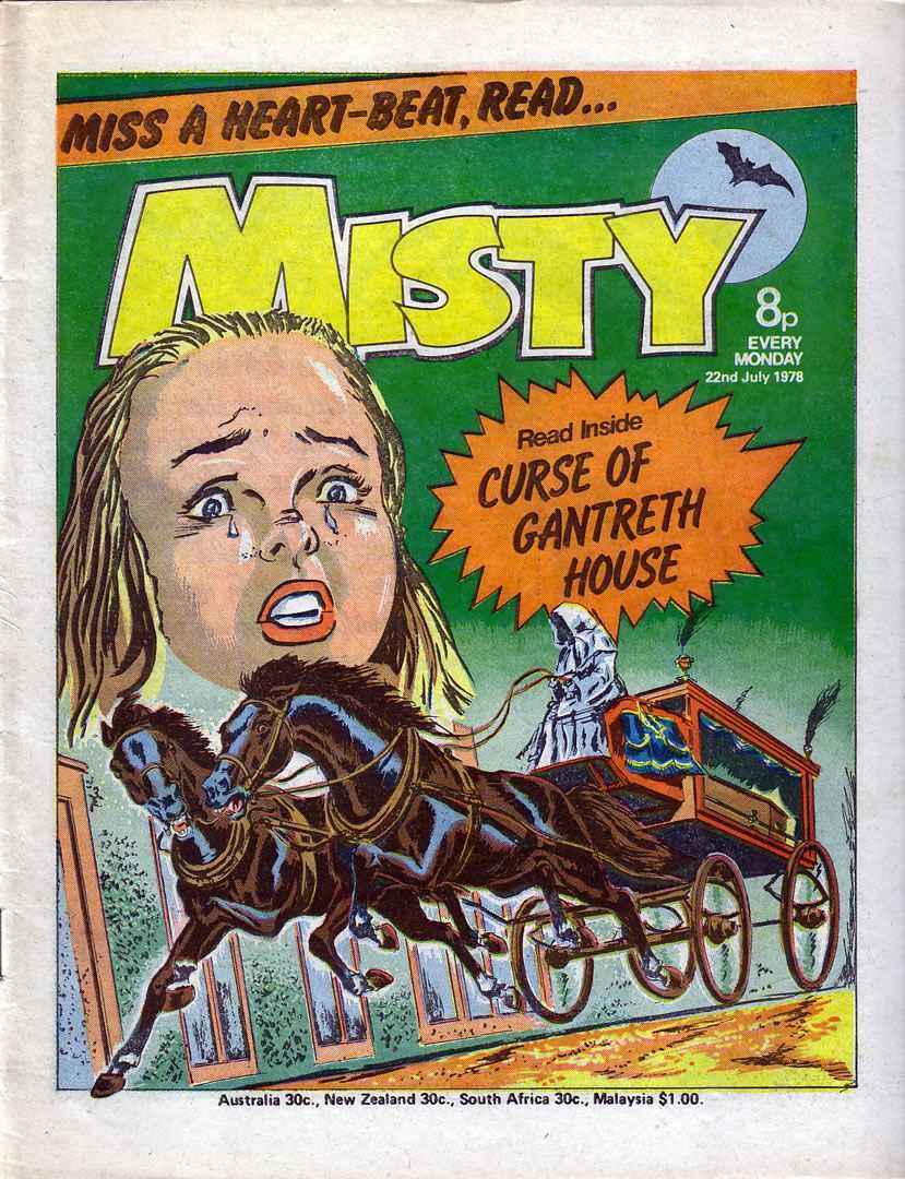 Misty (1978) 25 Page 1