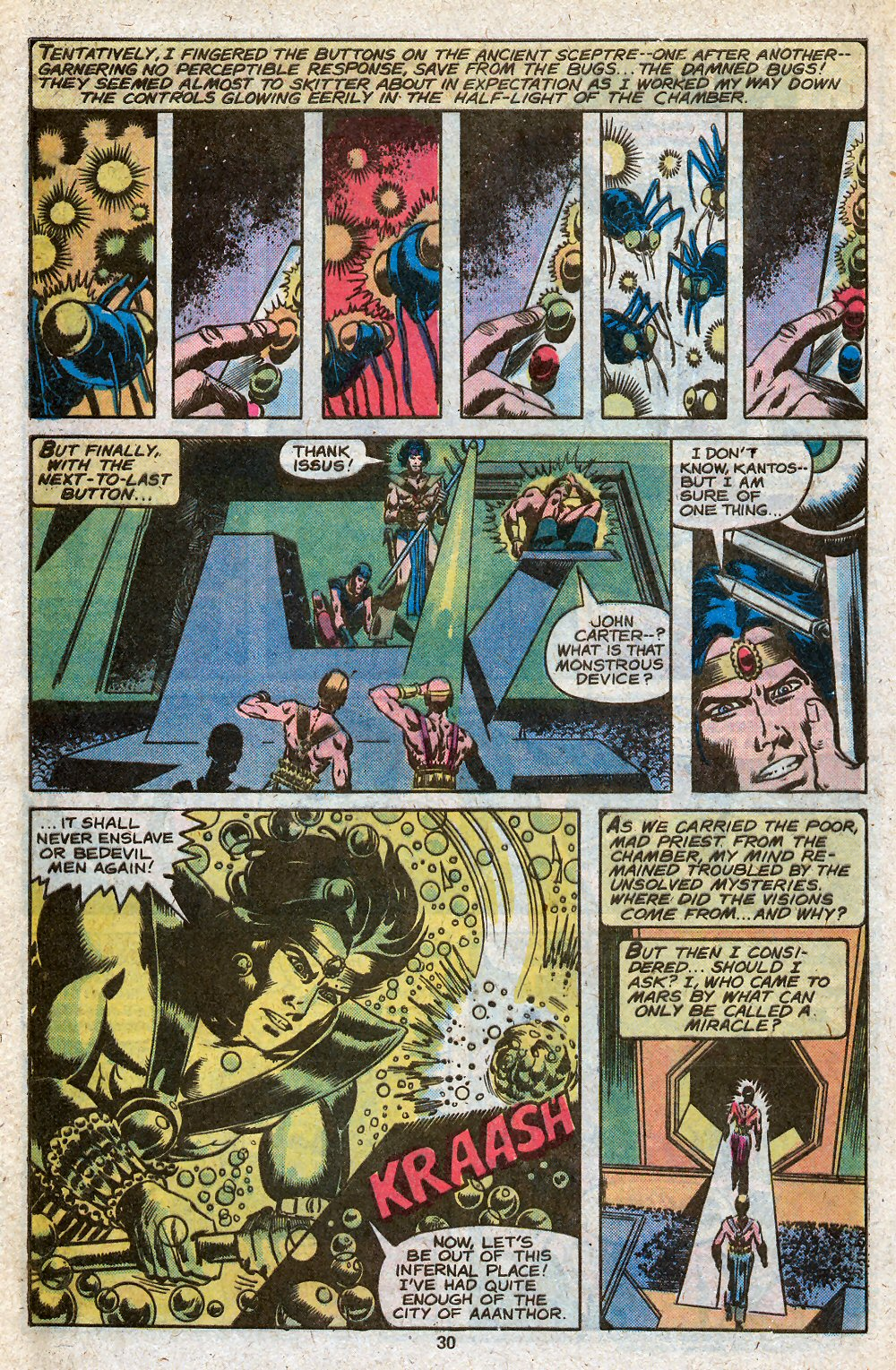 John Carter Warlord of Mars issue 28 - Page 32