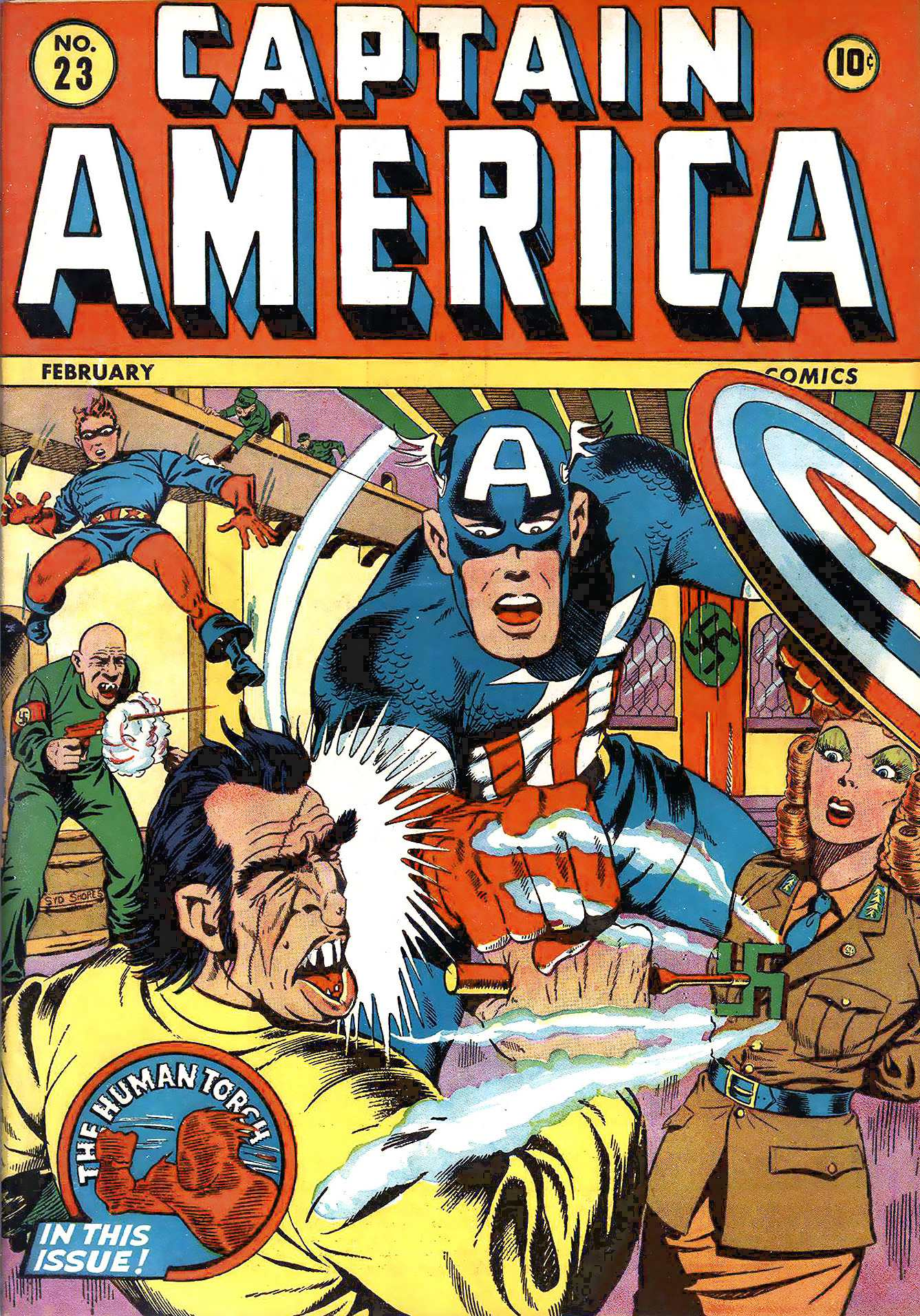 Captain America Comics 23 Page 1