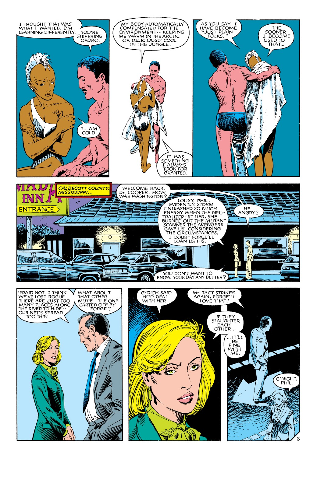 Uncanny X-Men (1963) issue 186 - Page 17