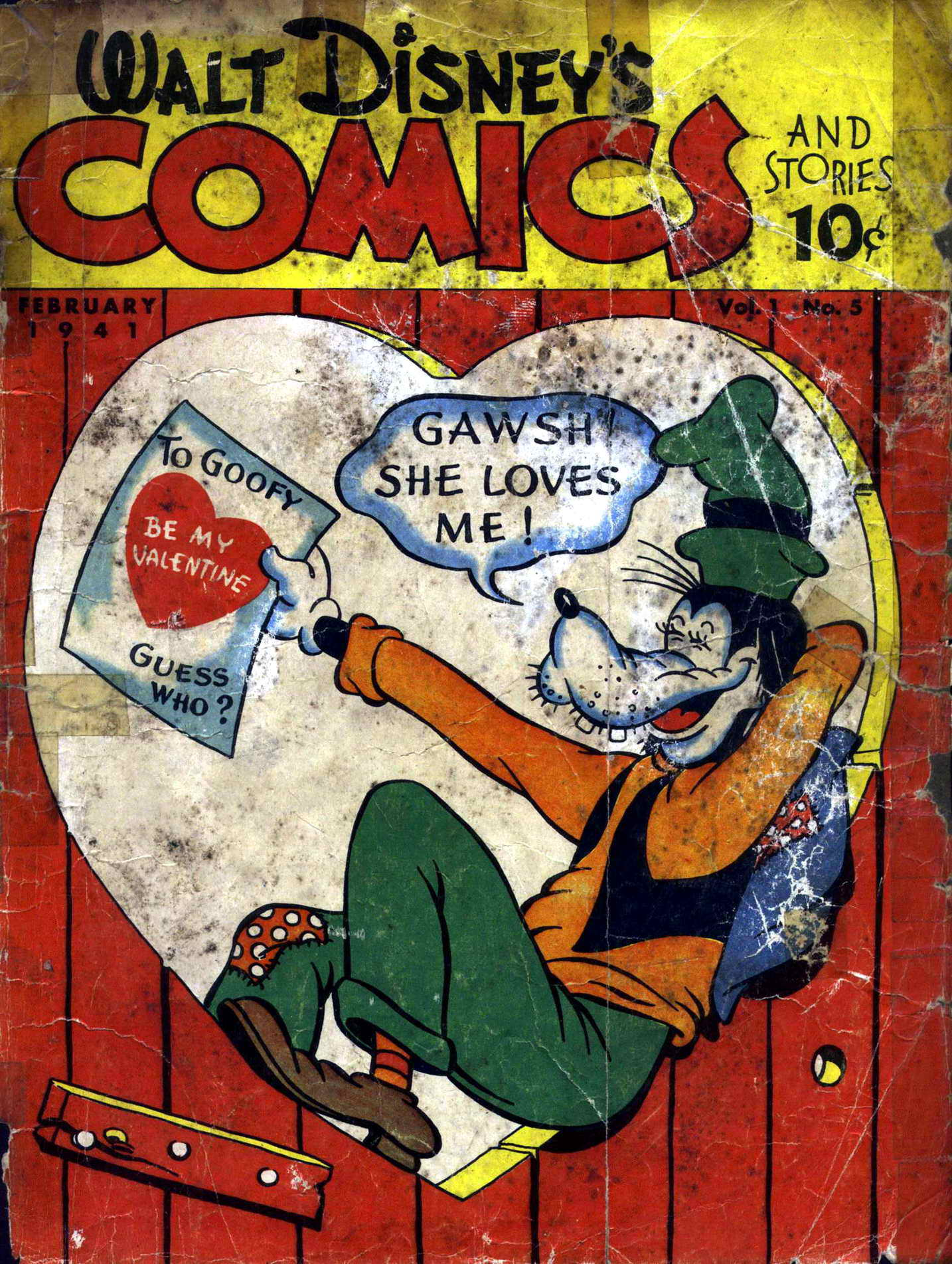 Walt Disneys Comics and Stories 5 Page 1