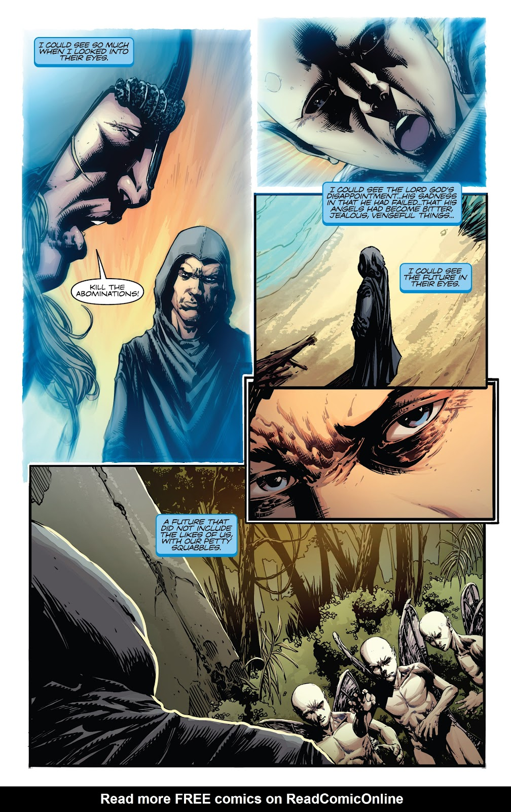 Read online Vampirella Strikes comic -  Issue #5 - 5