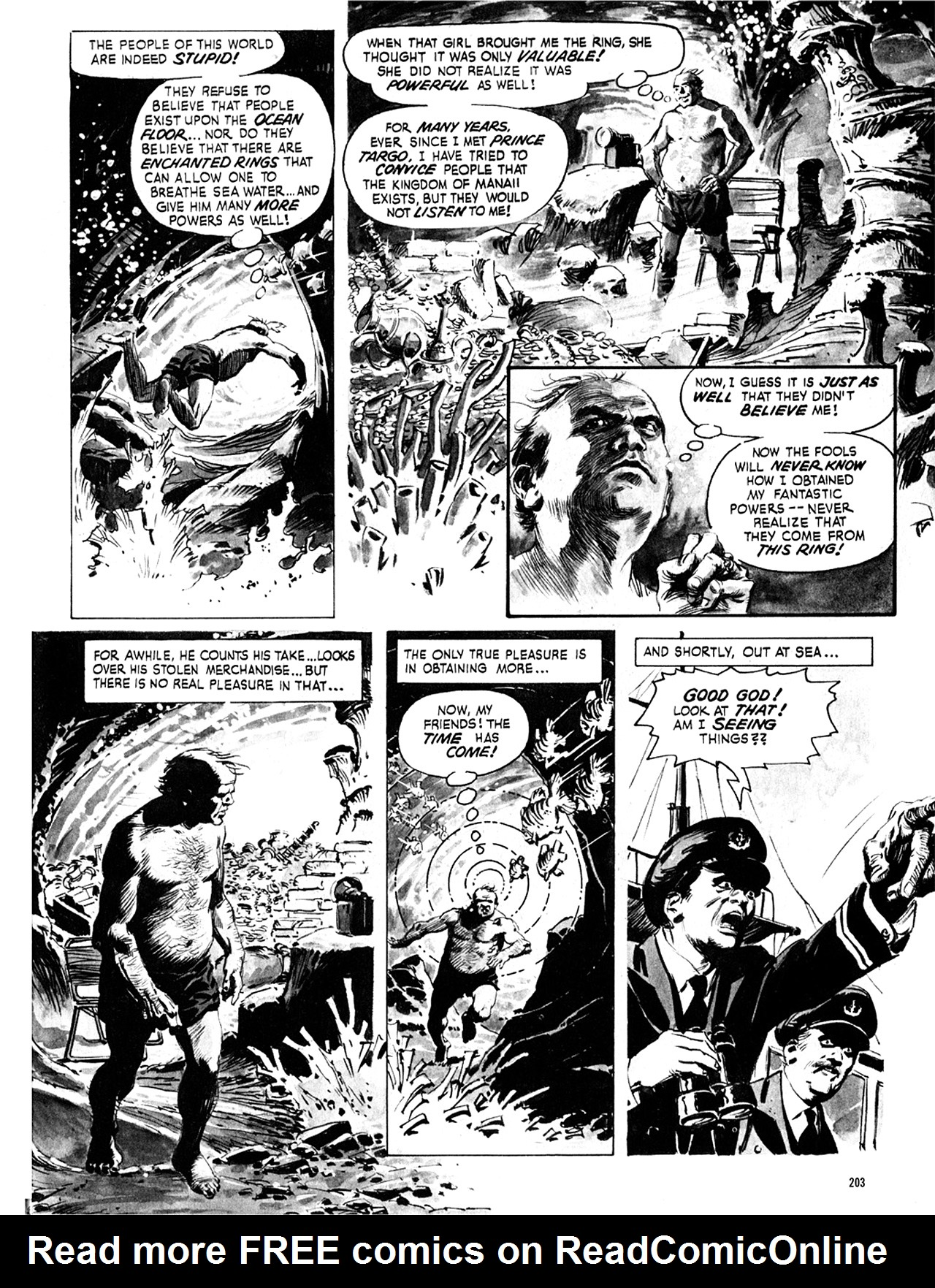 Read online Eerie Archives comic -  Issue # TPB 8 - 204