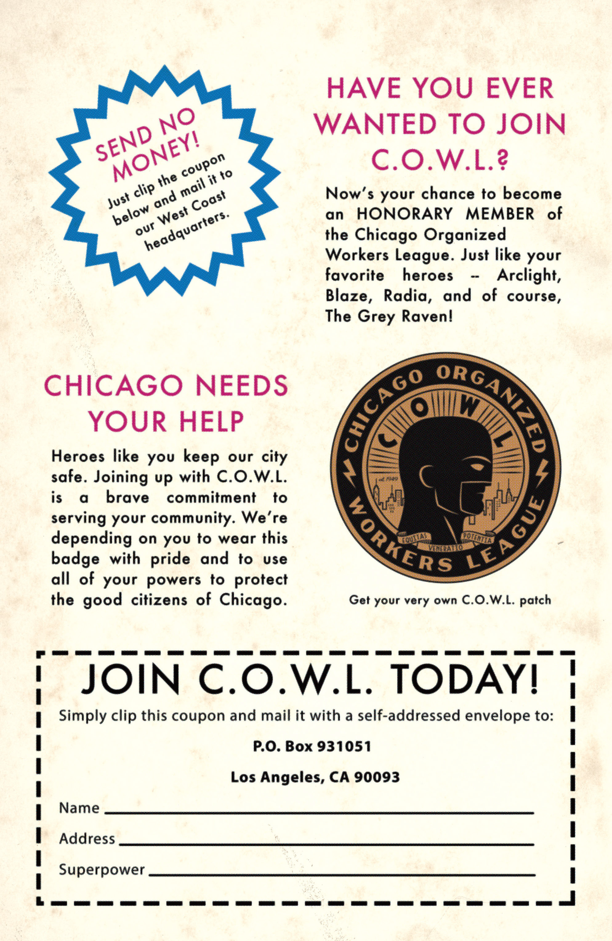 Read online C.O.W.L. comic -  Issue #6 - 31
