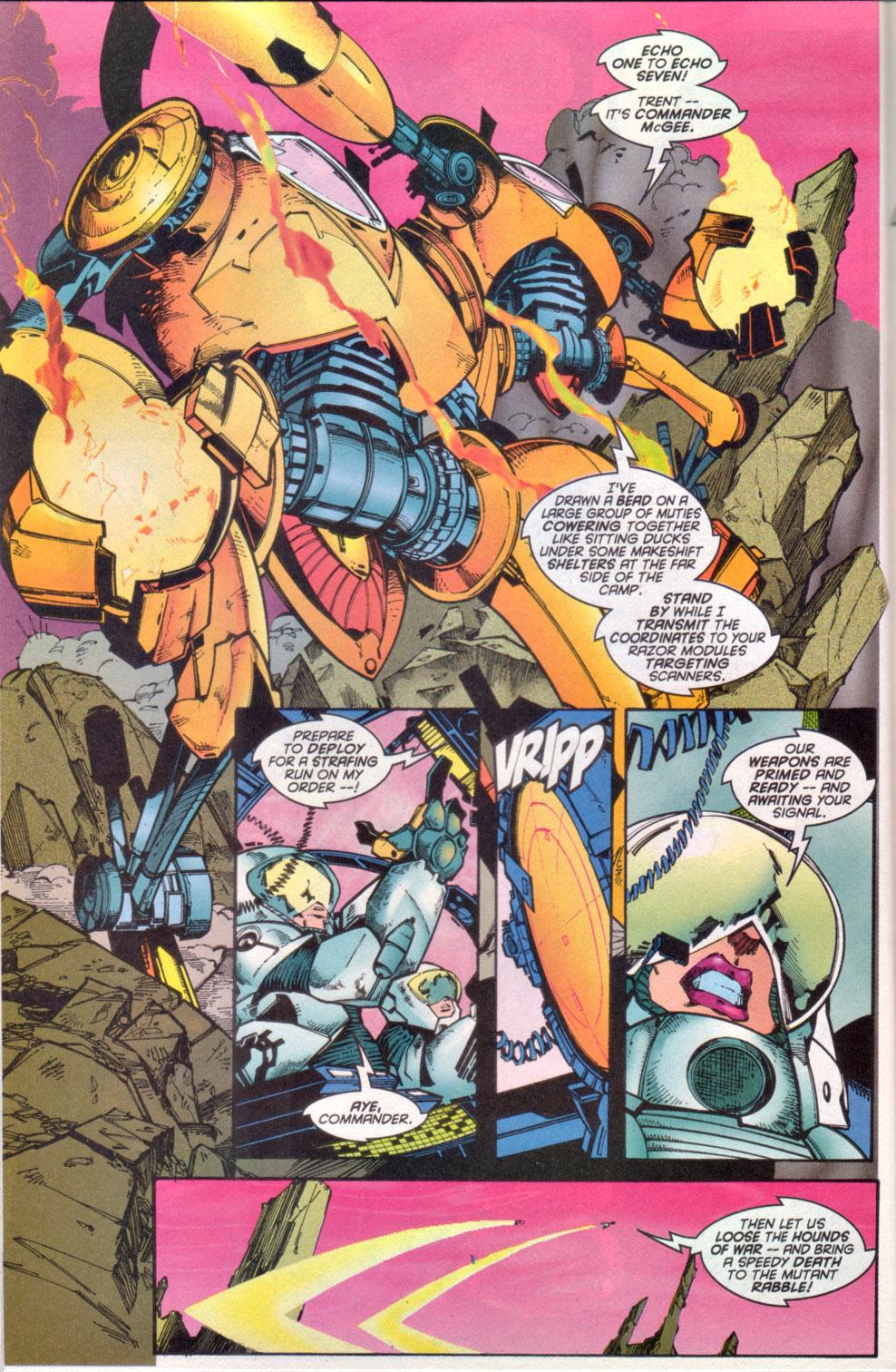 Read online Uncanny X-Men (1963) comic -  Issue # _Annual 1997 - 23