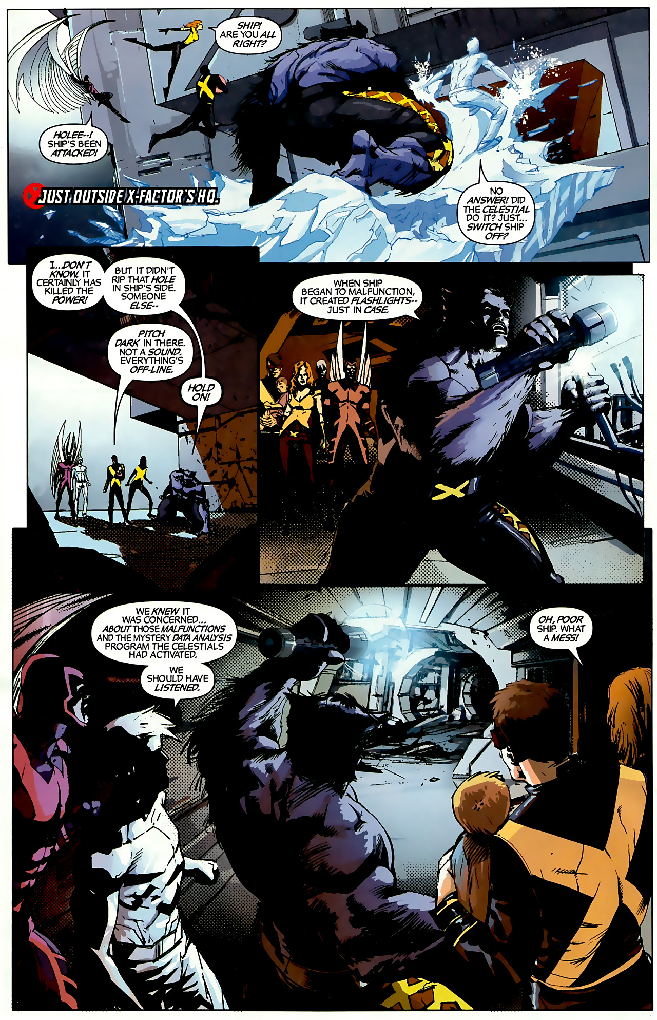 Read online X-Factor Forever comic -  Issue #3 - 8