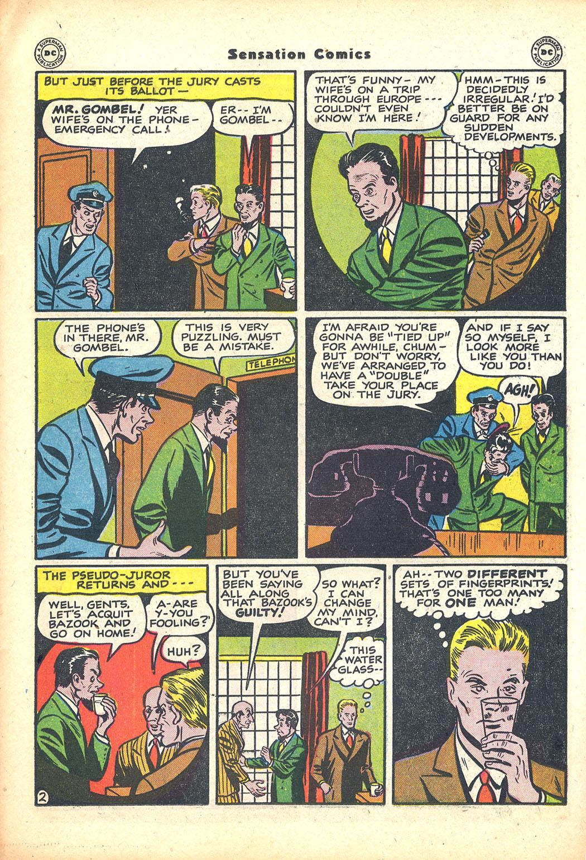 Read online Sensation (Mystery) Comics comic -  Issue #63 - 33