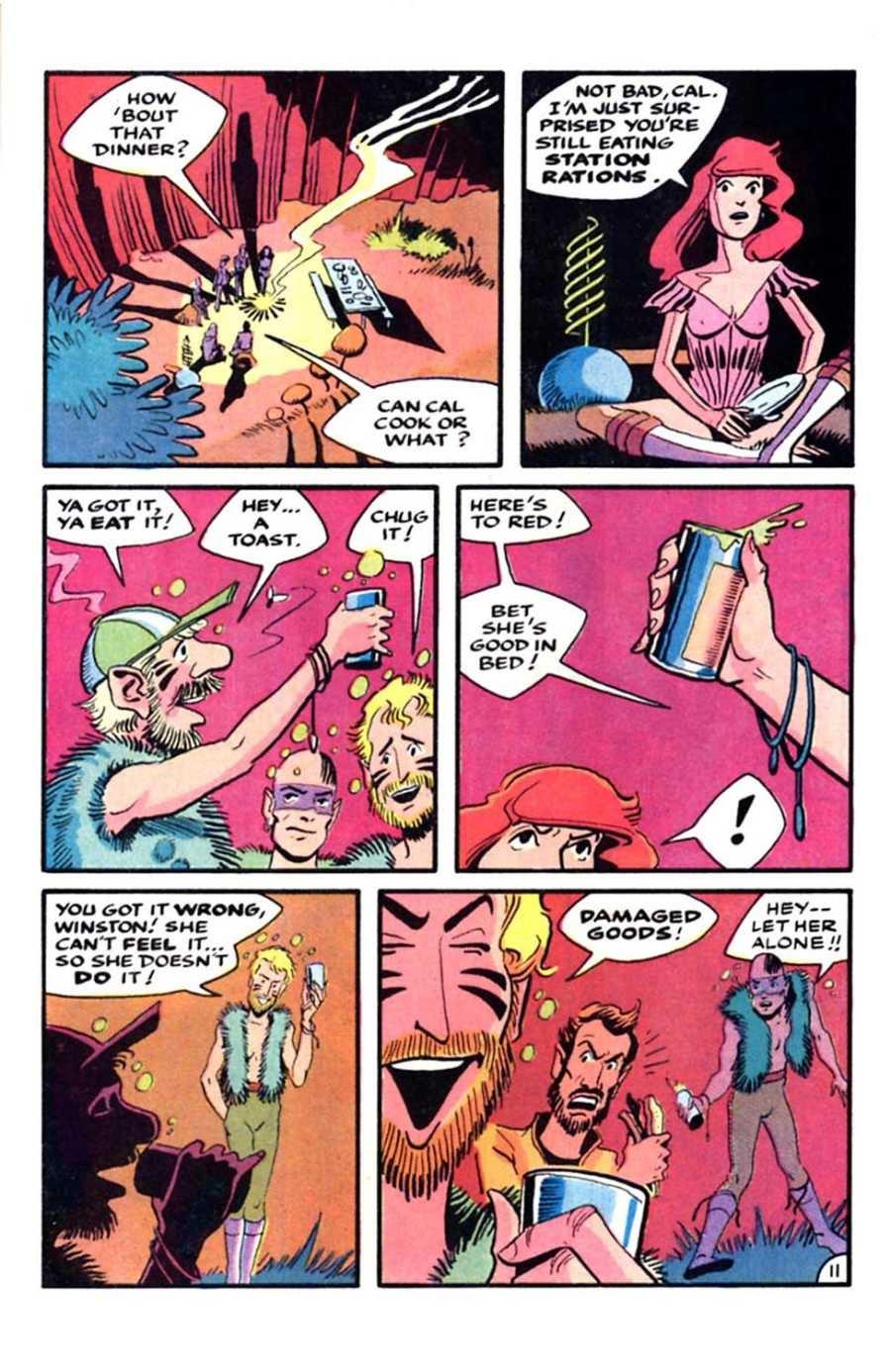 Read online Mars comic -  Issue #5 - 13