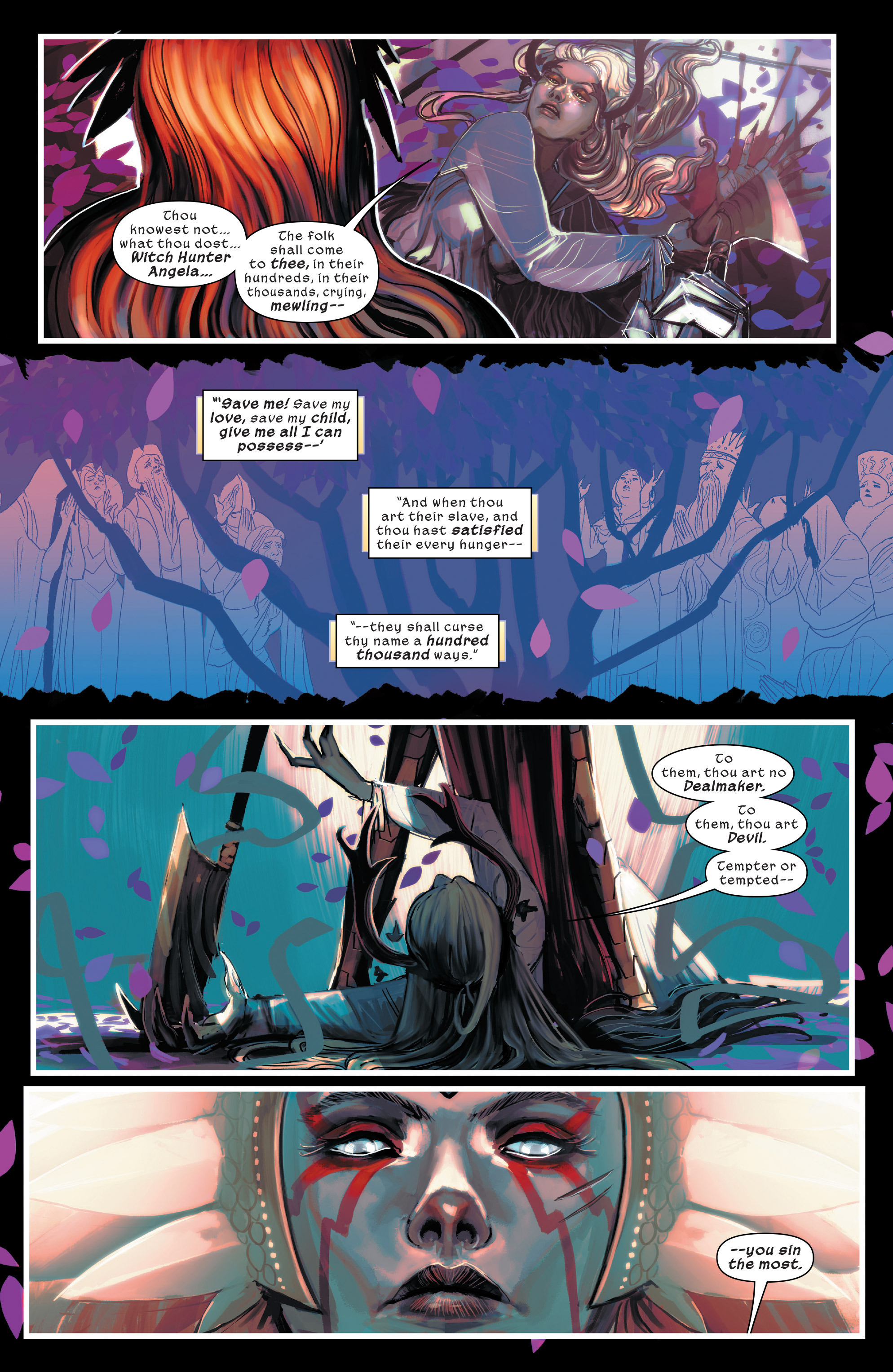Read online 1602 Witch Hunter Angela comic -  Issue #4 - 10