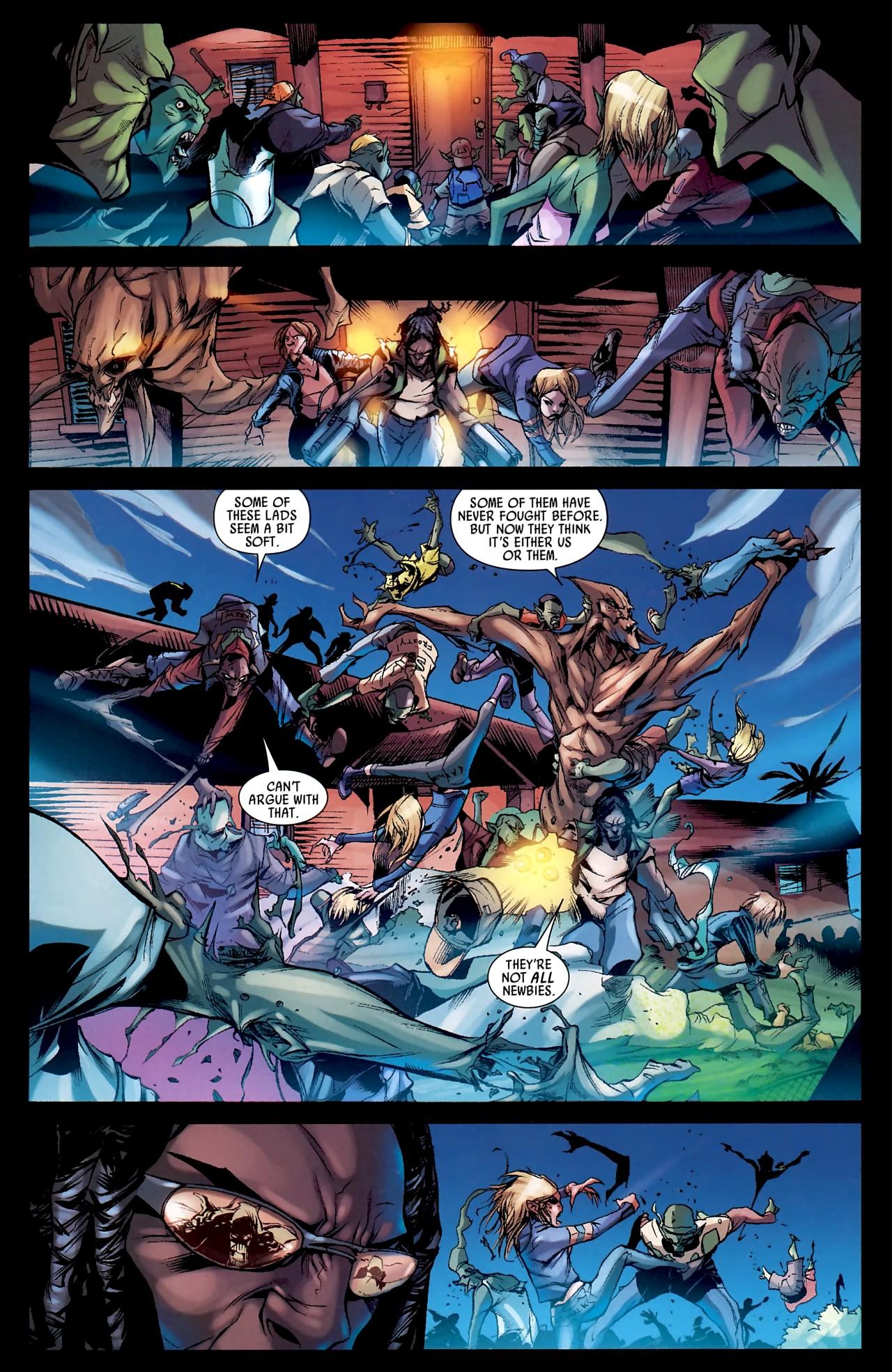 Read online Skrull Kill Krew (2009) comic -  Issue #4 - 22