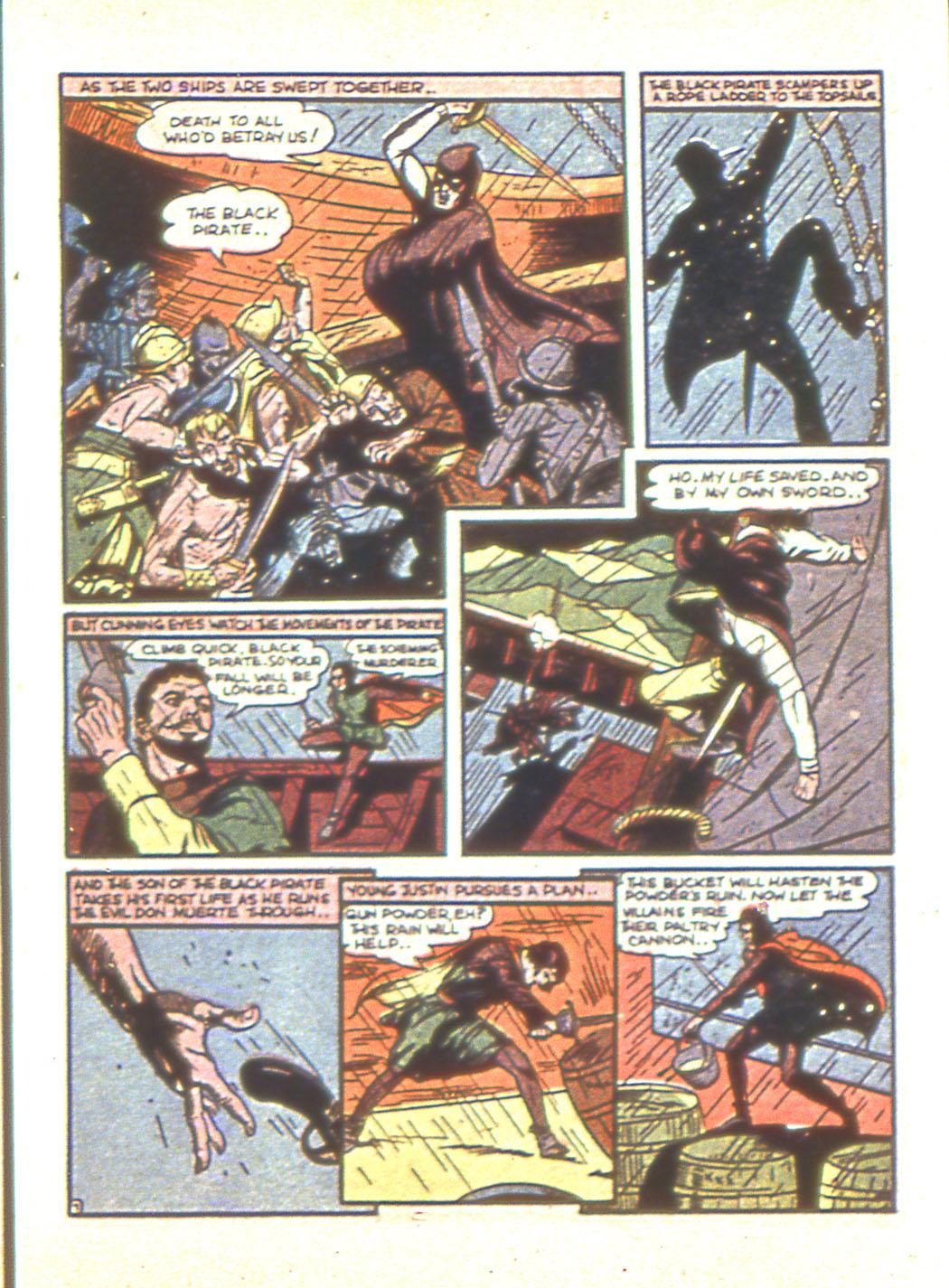 Read online Sensation (Mystery) Comics comic -  Issue #6 - 23