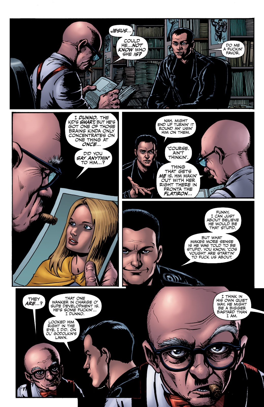 Read online The Boys Omnibus comic -  Issue # TPB 4 (Part 1) - 37