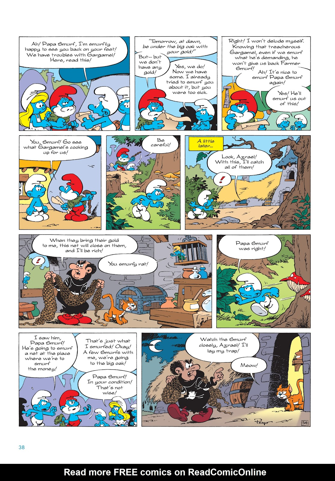Read online The Smurfs comic -  Issue #18 - 38