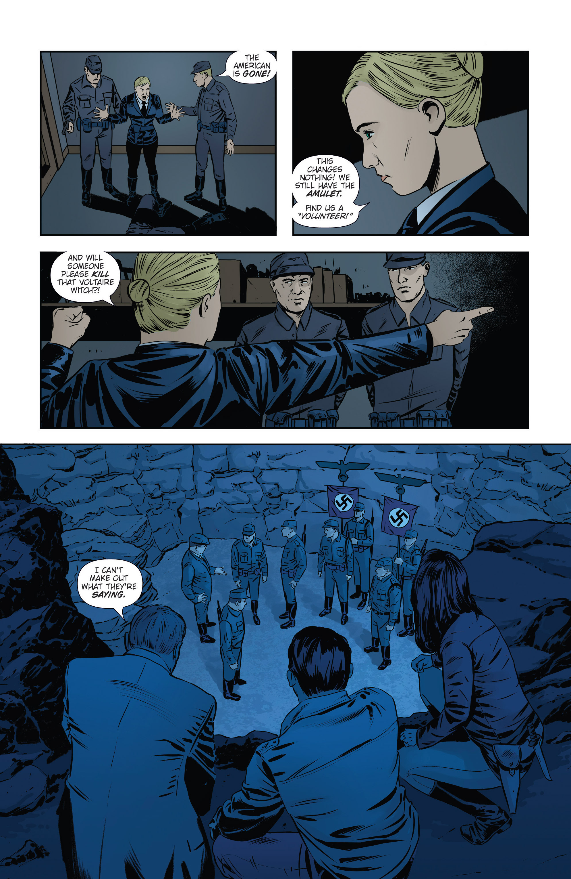 Read online Athena Voltaire and the Volcano Goddess comic -  Issue #3 - 15
