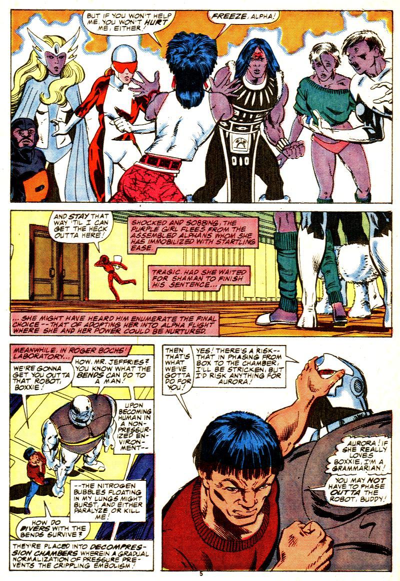 Read online Alpha Flight (1983) comic -  Issue #42 - 6