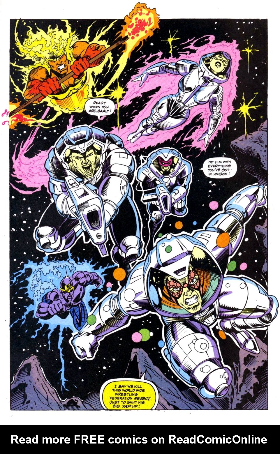 The New Warriors Issue #41 #45 - English 20
