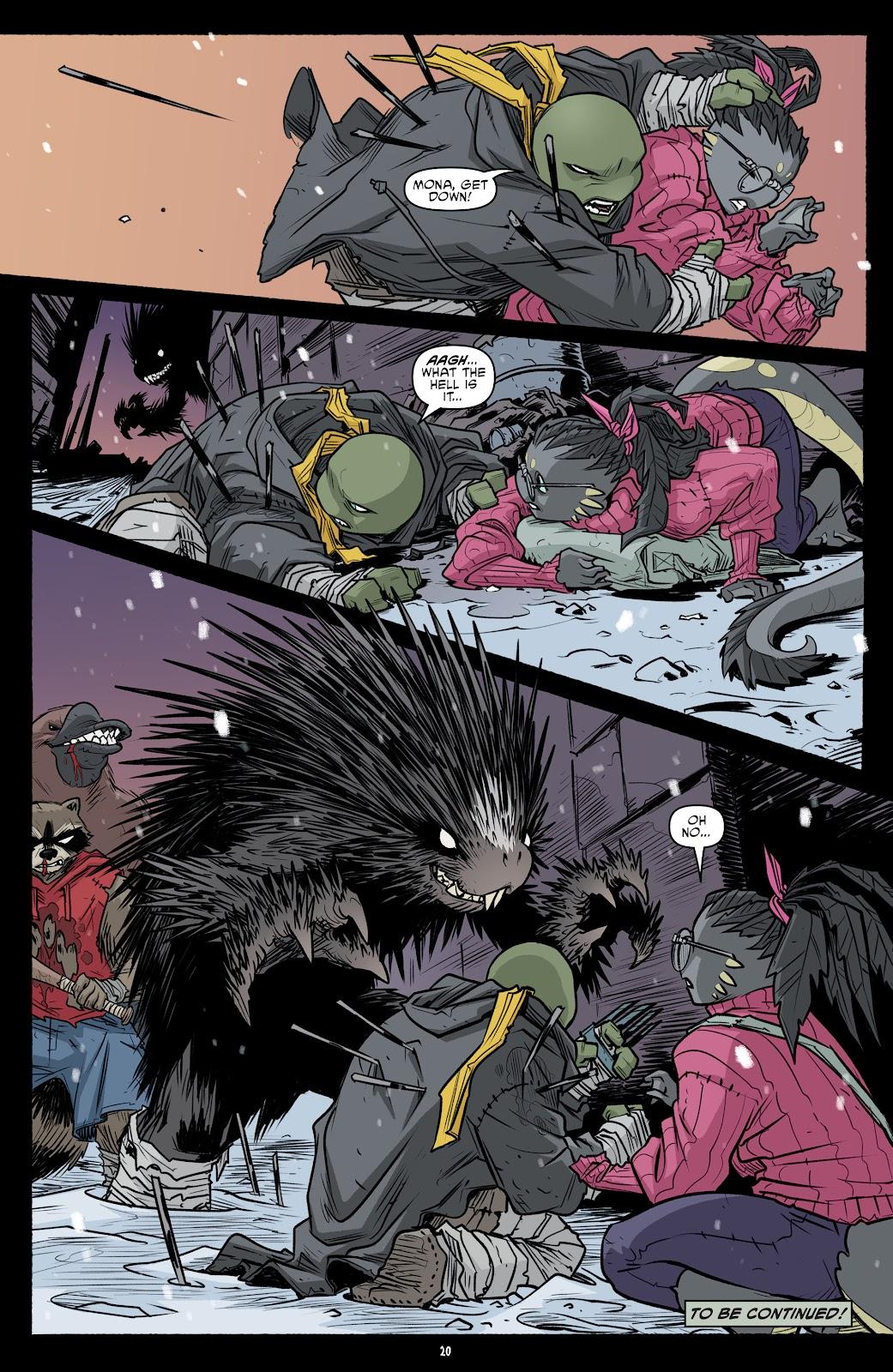 Read online Teenage Mutant Ninja Turtles (2011) comic -  Issue #101 - 22