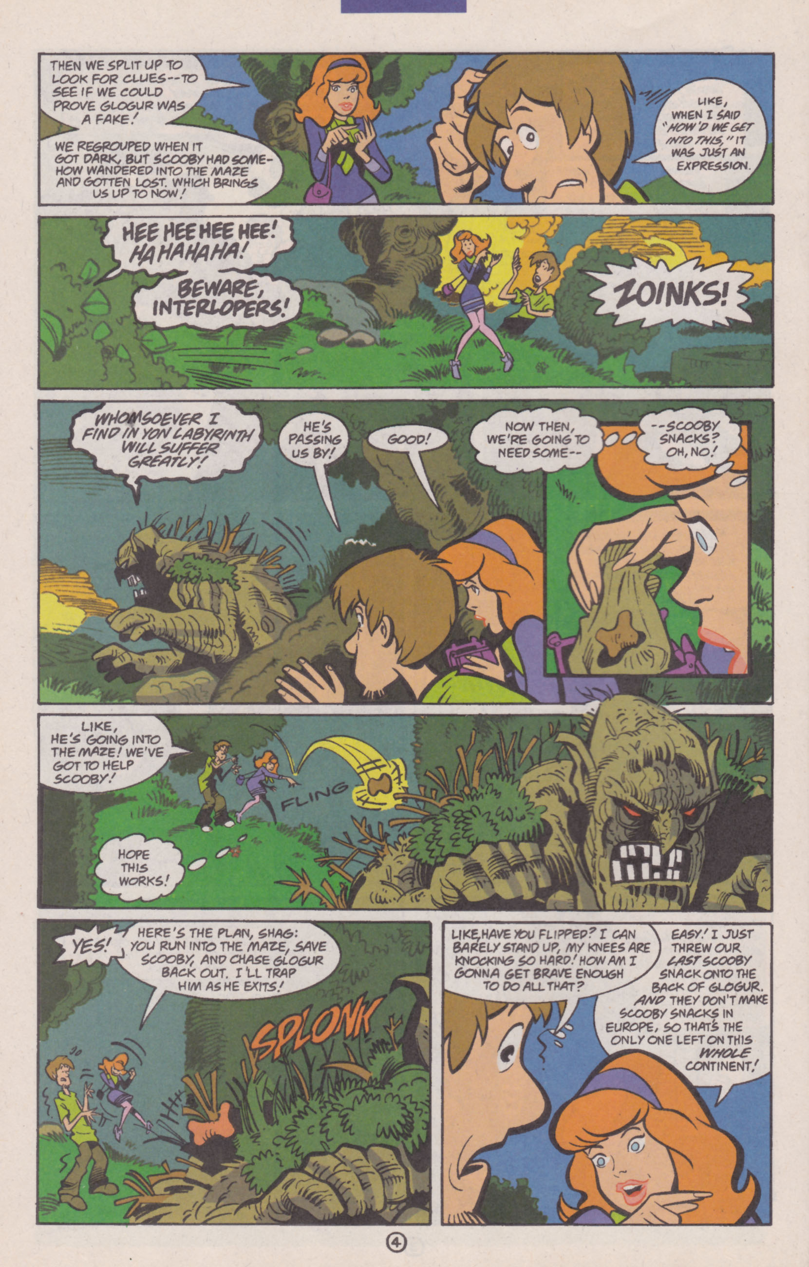 Read online Scooby-Doo (1997) comic -  Issue #14 - 19