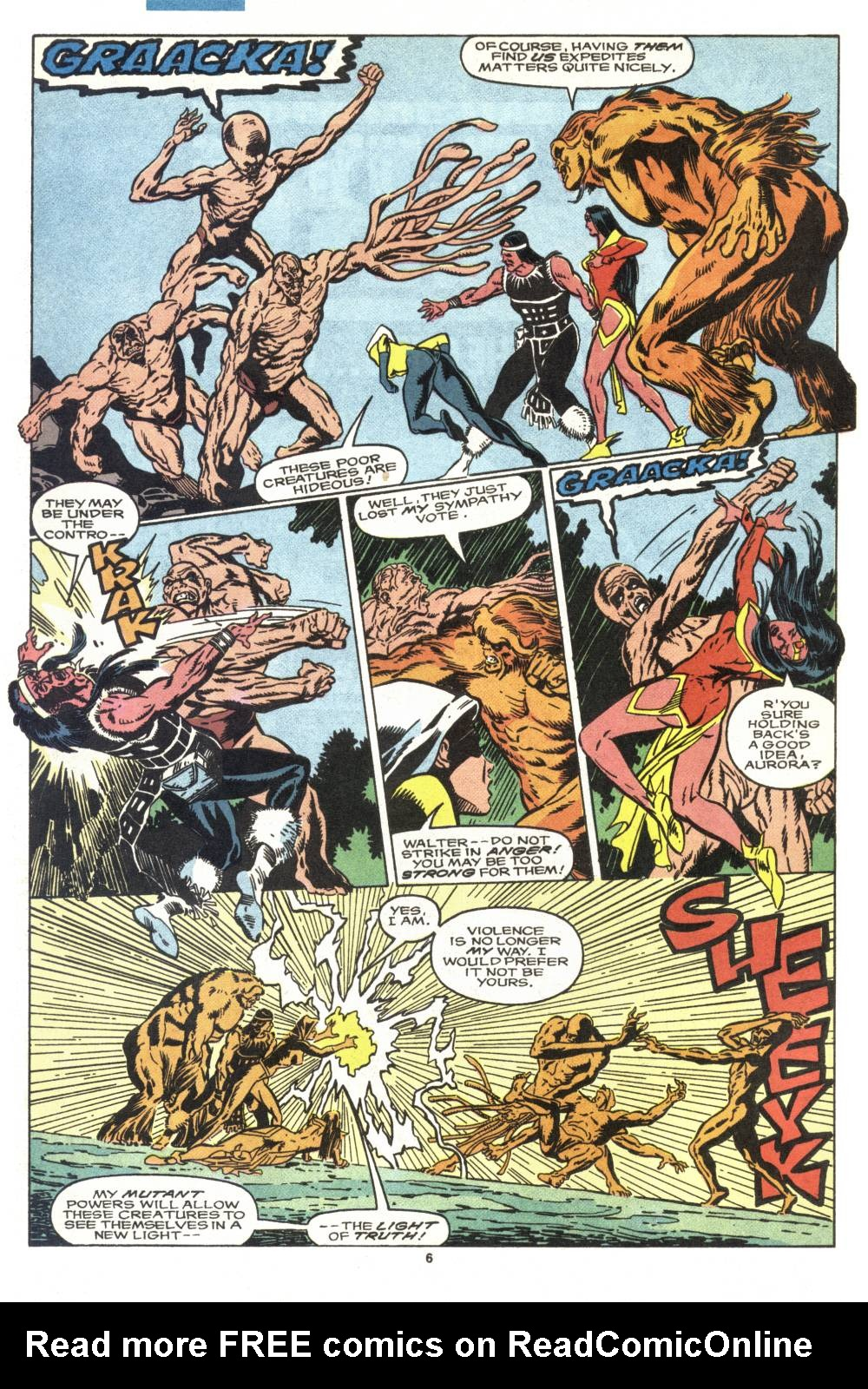 Read online Alpha Flight (1983) comic -  Issue #88 - 5