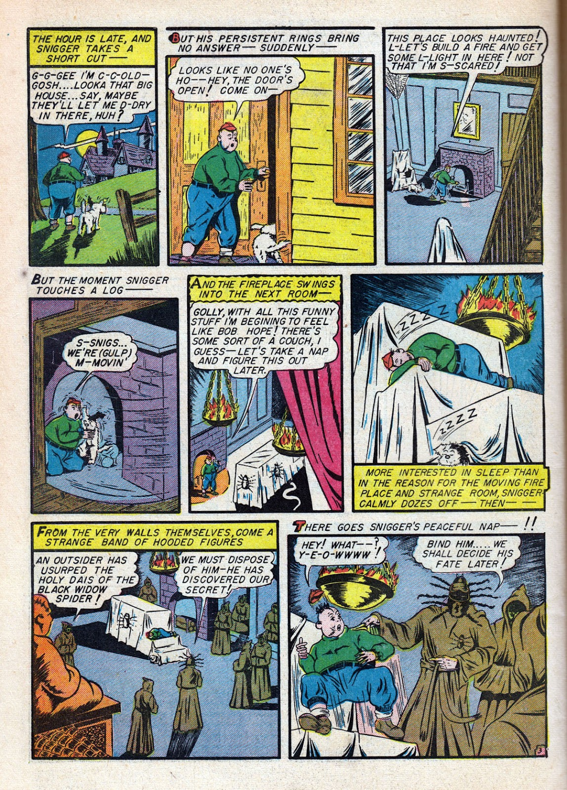 Read online Comedy Comics (1942) comic -  Issue #11 - 50