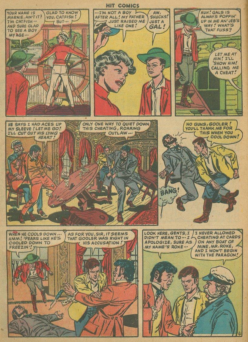 Read online Hit Comics comic -  Issue #61 - 6