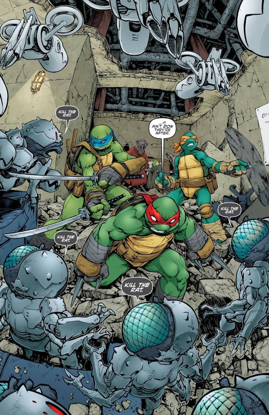 Read online Teenage Mutant Ninja Turtles: The IDW Collection comic -  Issue # TPB 6 (Part 2) - 91