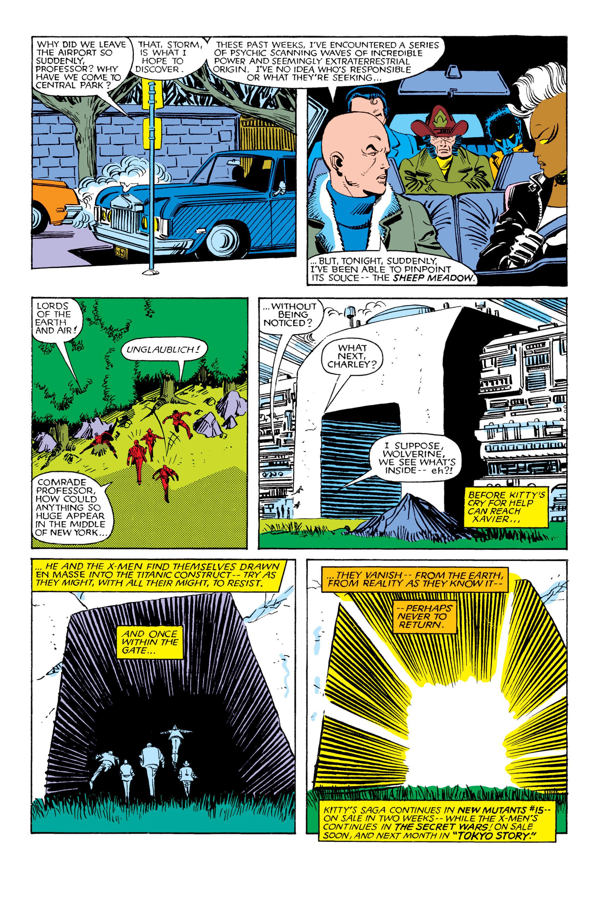Read online Uncanny X-Men (1963) comic -  Issue #180 - 24