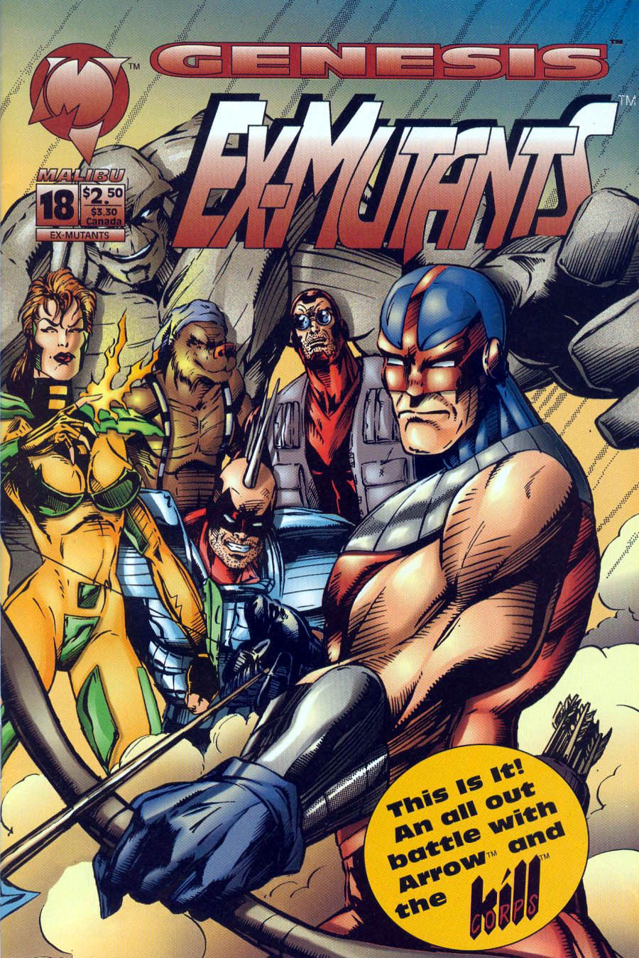 Read online Ex-Mutants comic -  Issue #18 - 1
