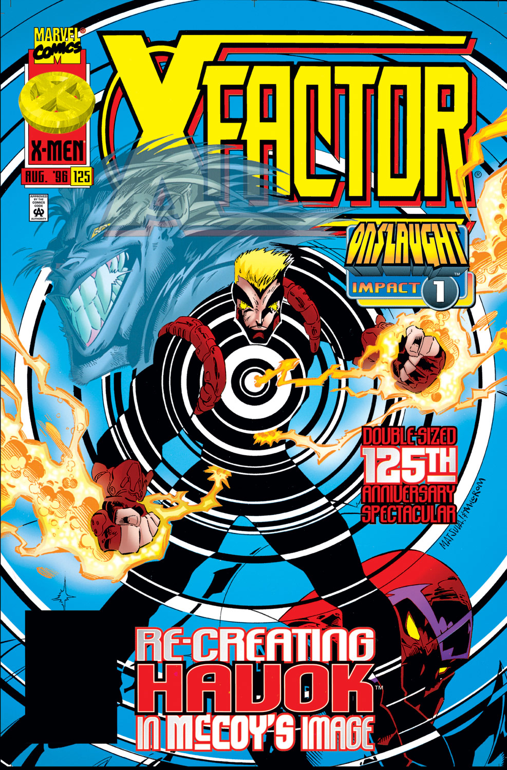 Read online X-Factor (1986) comic -  Issue #125 - 1