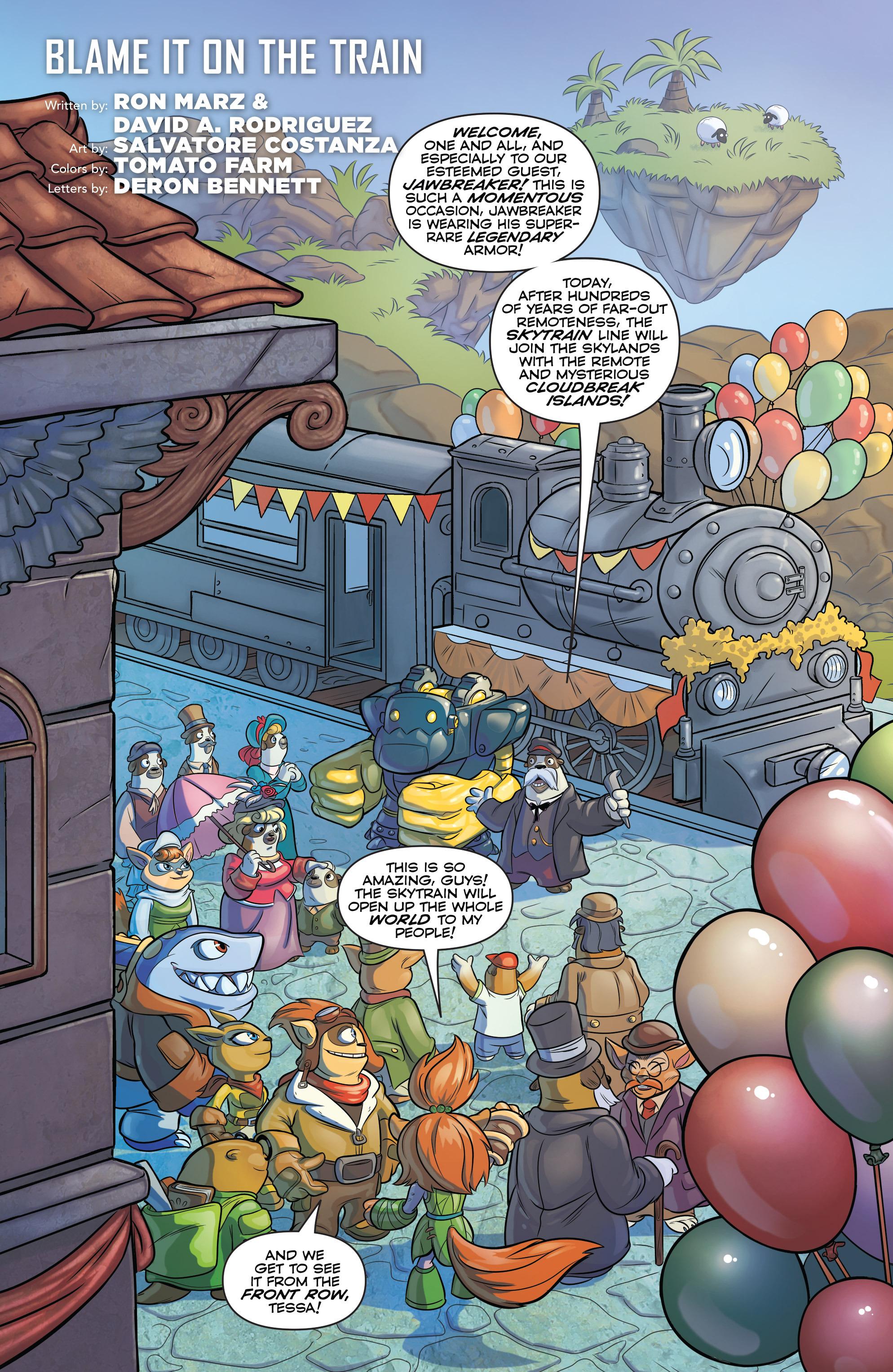 Read online Skylanders comic -  Issue #6 - 3