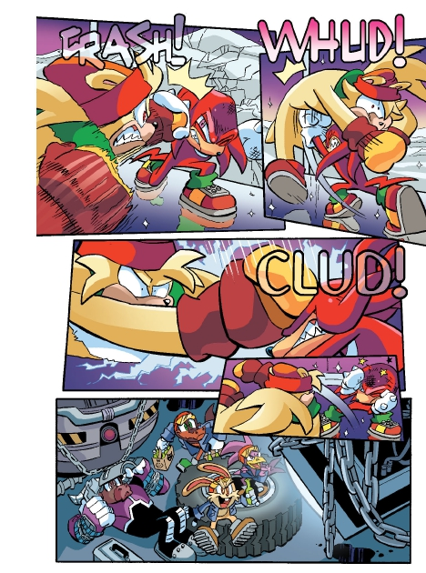 Read online Sonic Comics Spectacular: Speed of Sound comic -  Issue # Full - 33