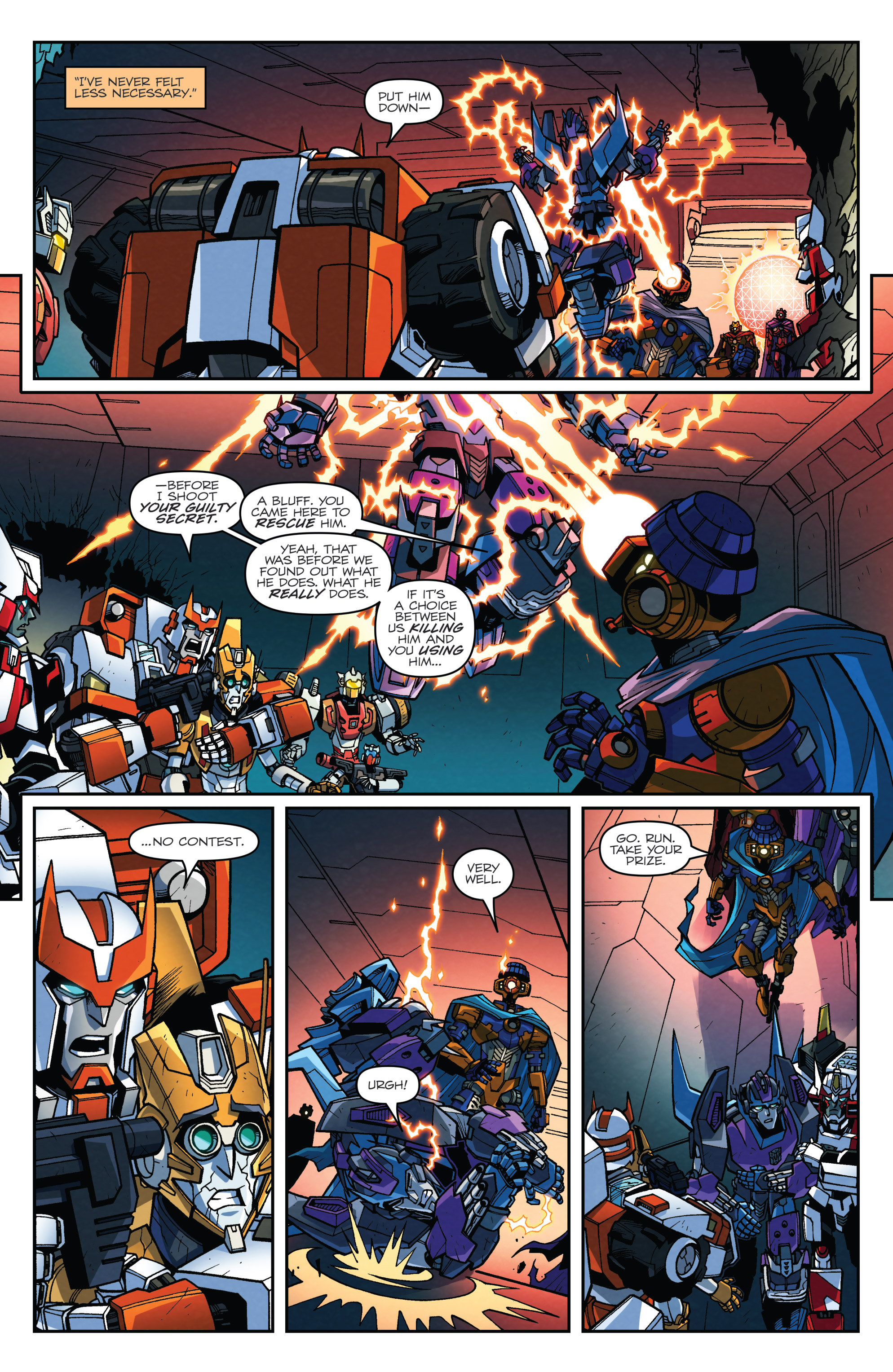 Read online Transformers: Lost Light comic -  Issue #5 - 5