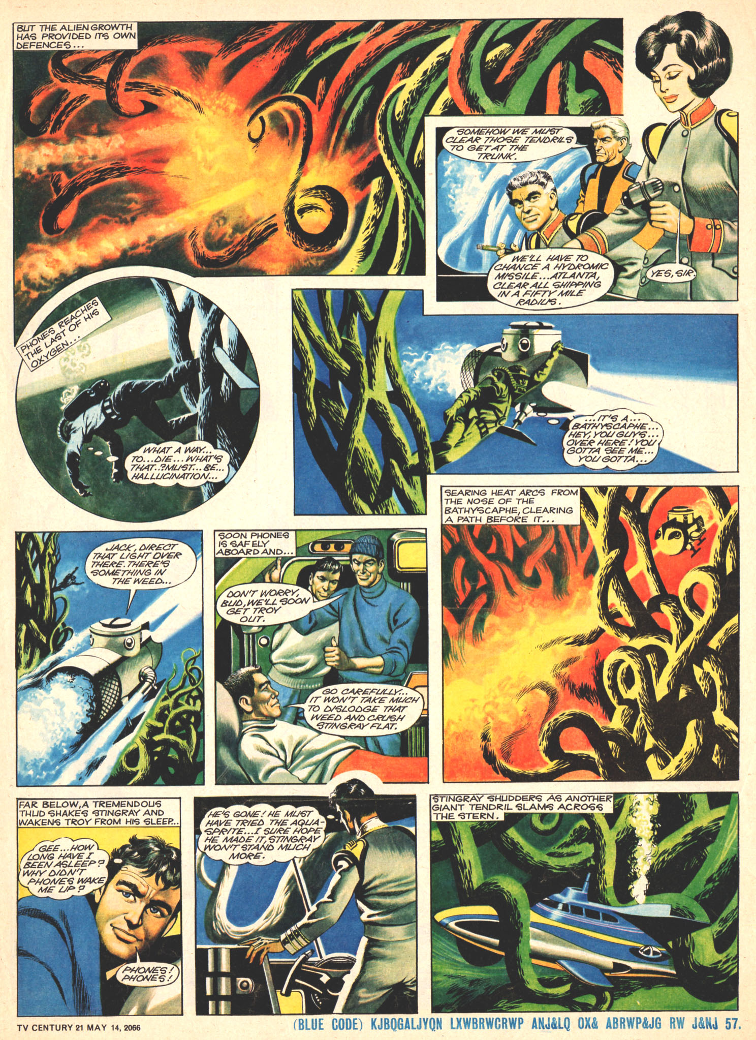 Read online TV Century 21 (TV 21) comic -  Issue #69 - 5