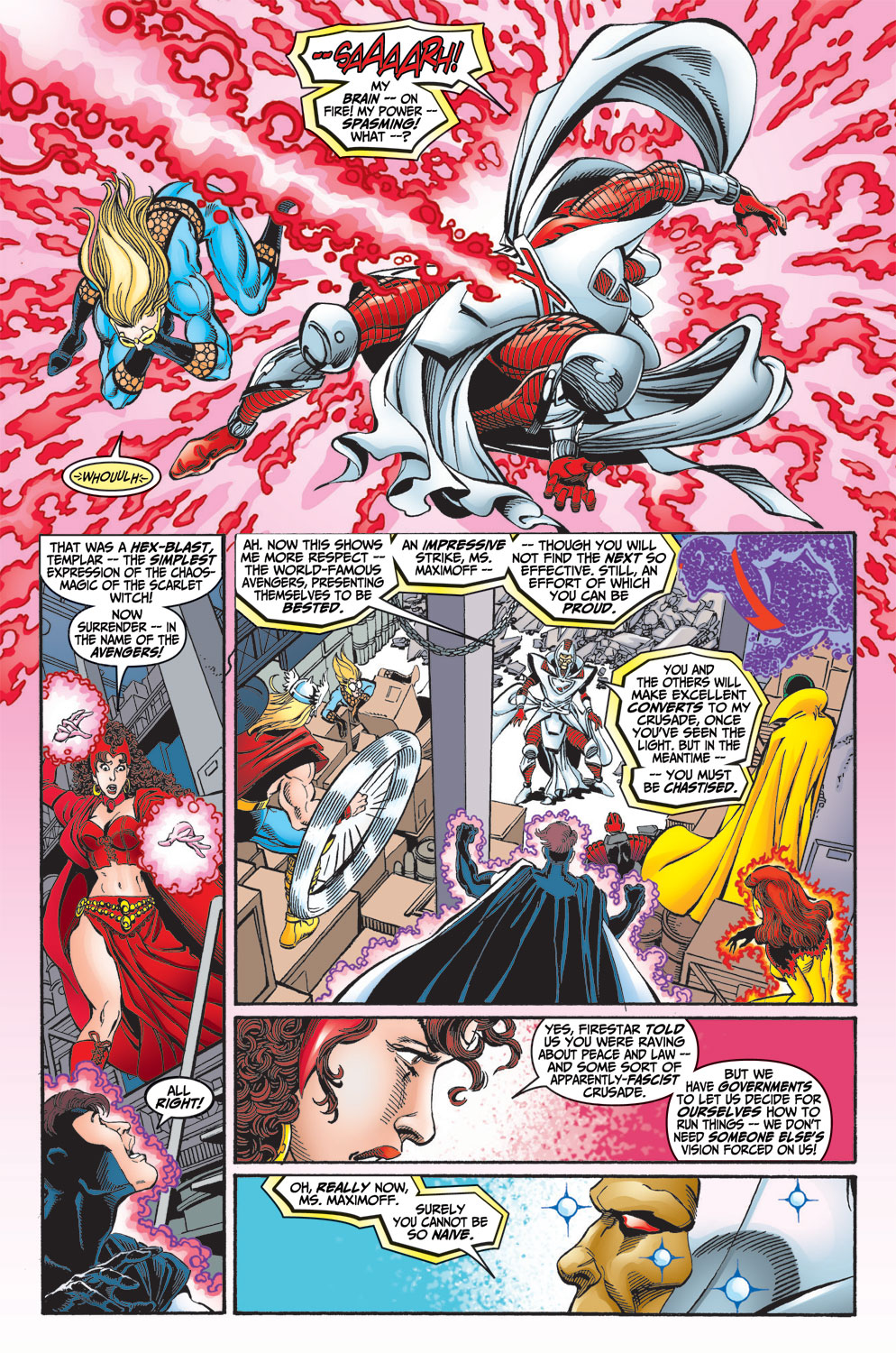 Read online Avengers (1998) comic -  Issue #13 - 16