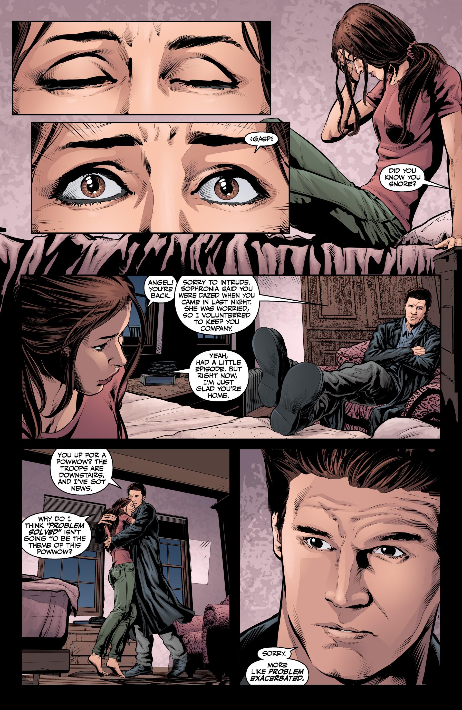Read online Angel & Faith Season 10 comic -  Issue #19 - 8