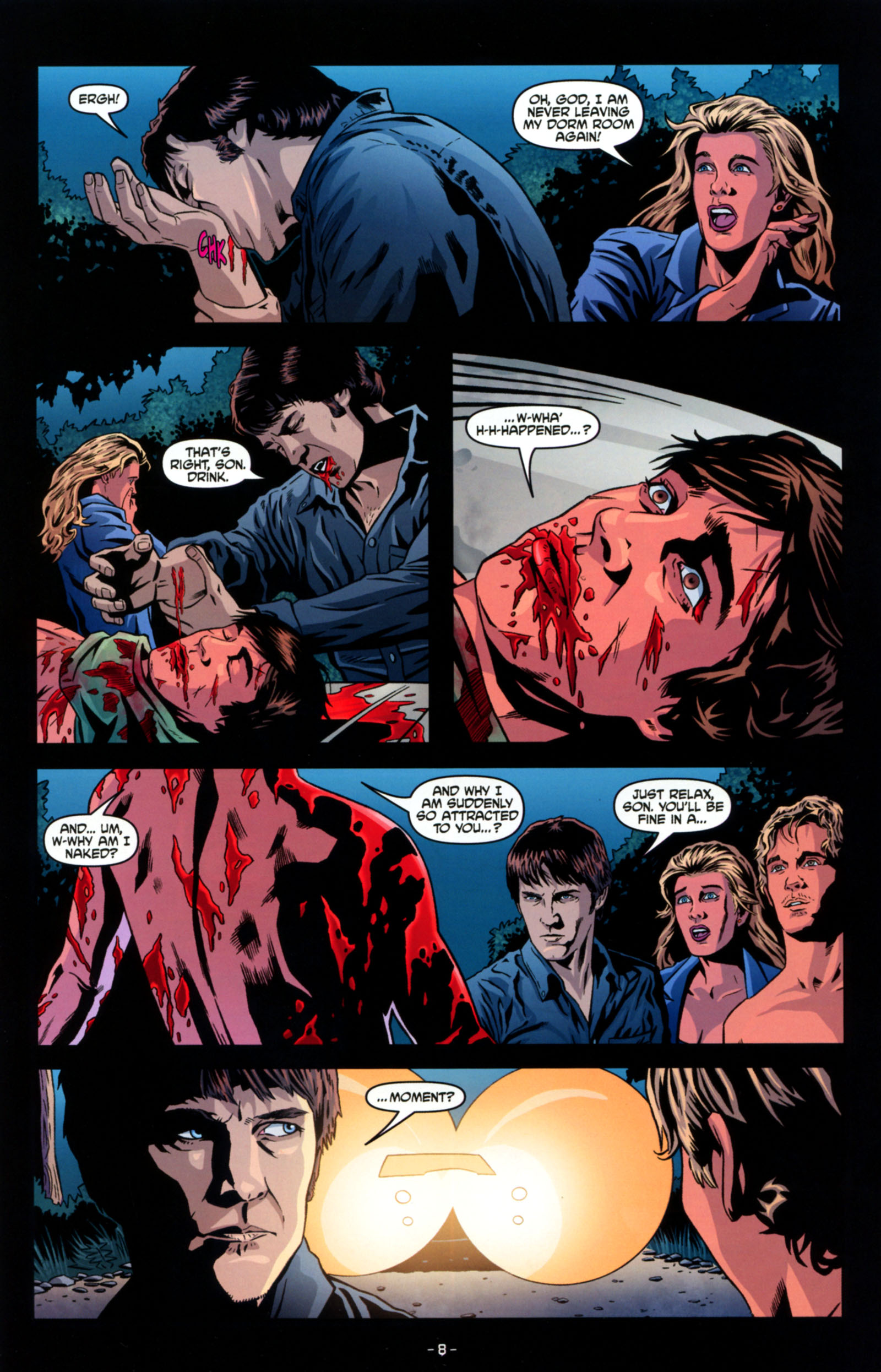 Read online True Blood: Tainted Love comic -  Issue #4 - 10
