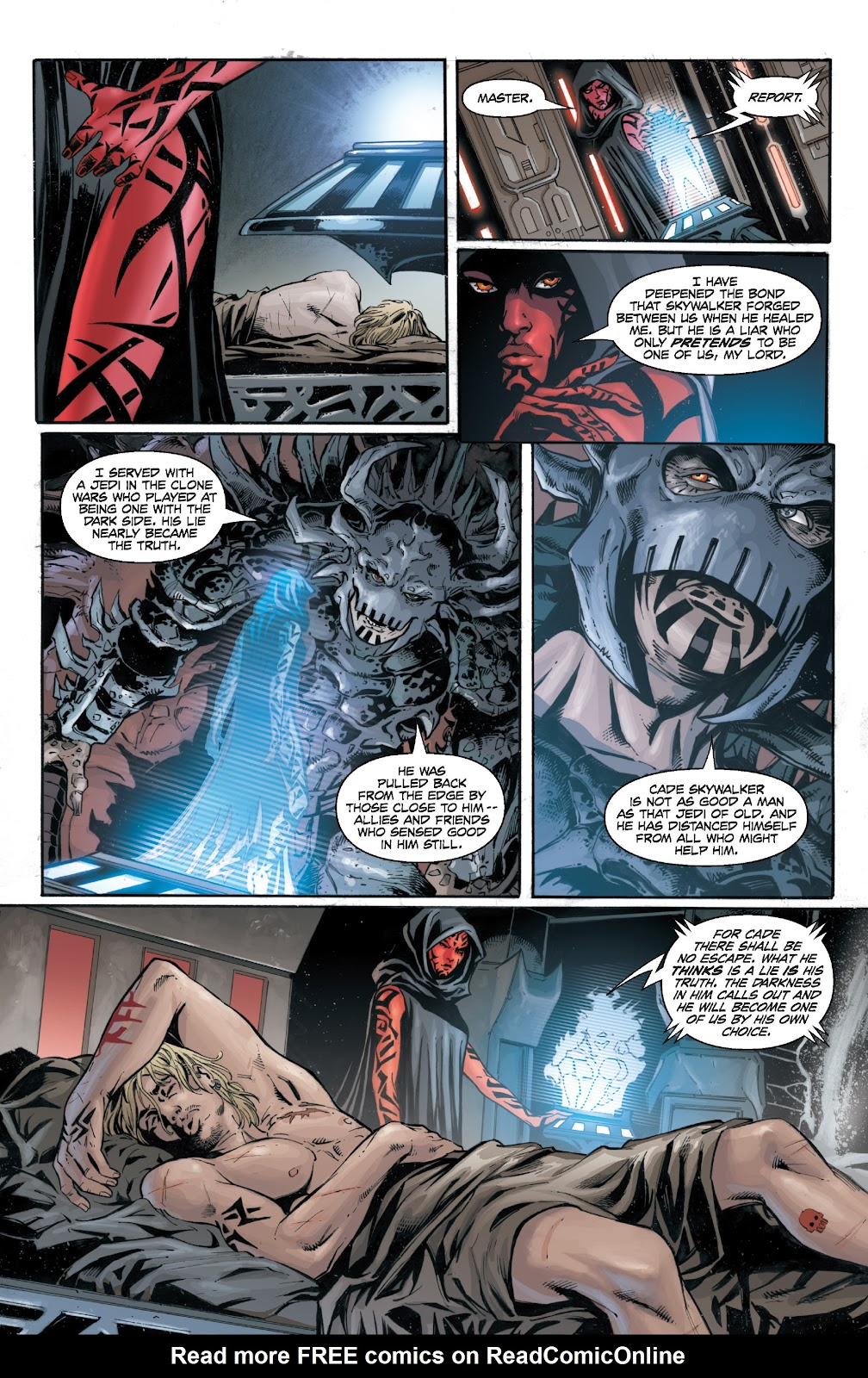 Read online Star Wars Legends: Legacy - Epic Collection comic -  Issue # TPB 1 (Part 5) - 11