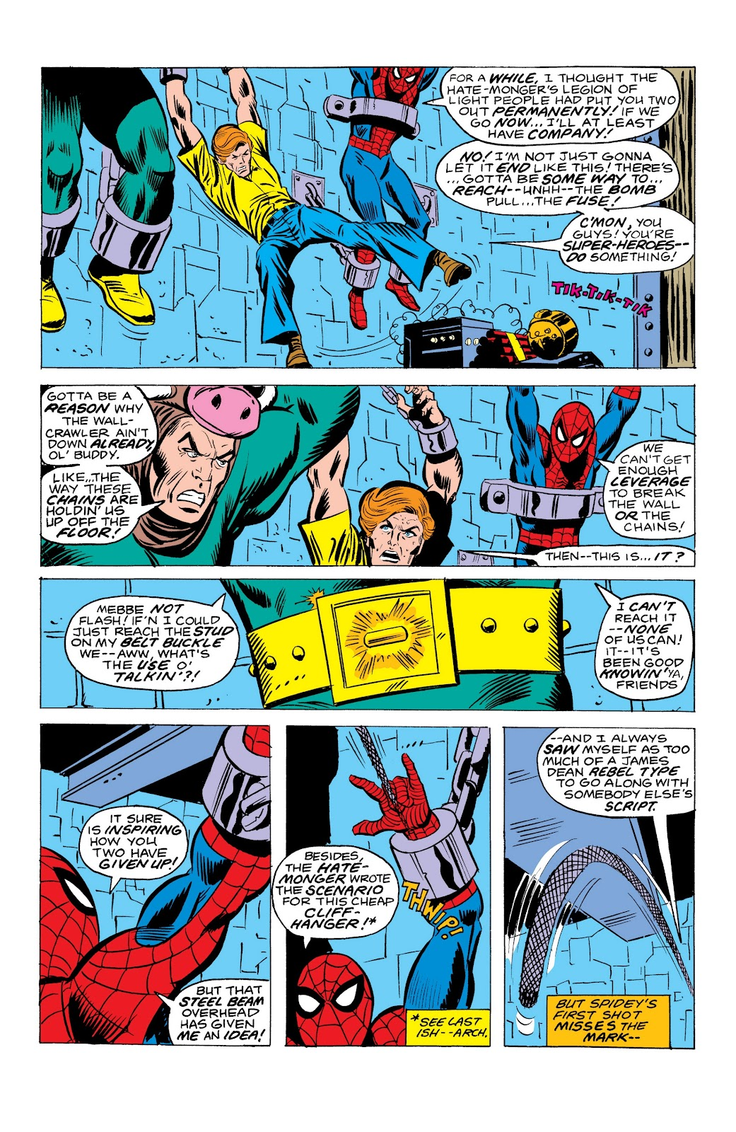 Read online Marvel Masterworks: The Spectacular Spider-Man comic -  Issue # TPB (Part 3) - 30