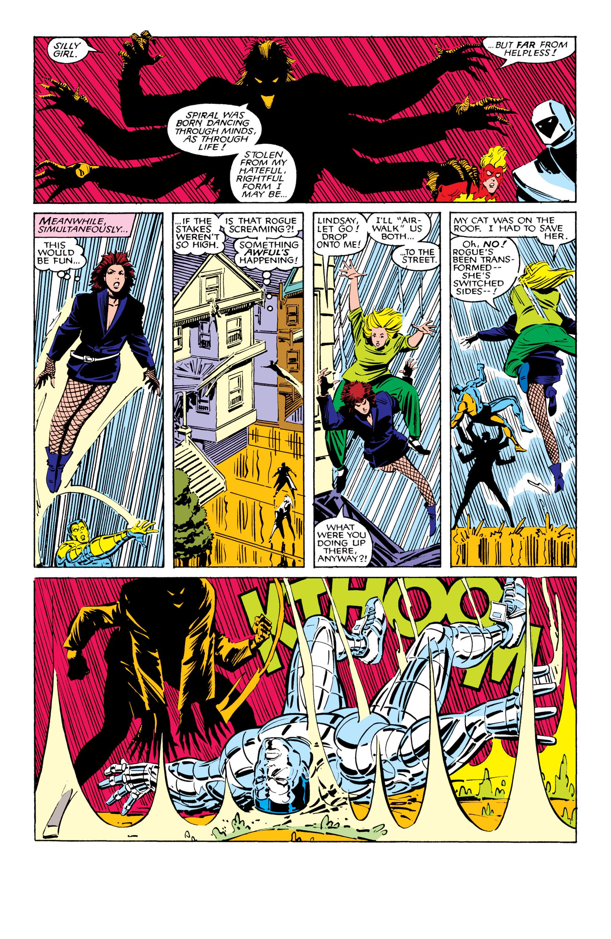 Read online Uncanny X-Men (1963) comic -  Issue #206 - 19