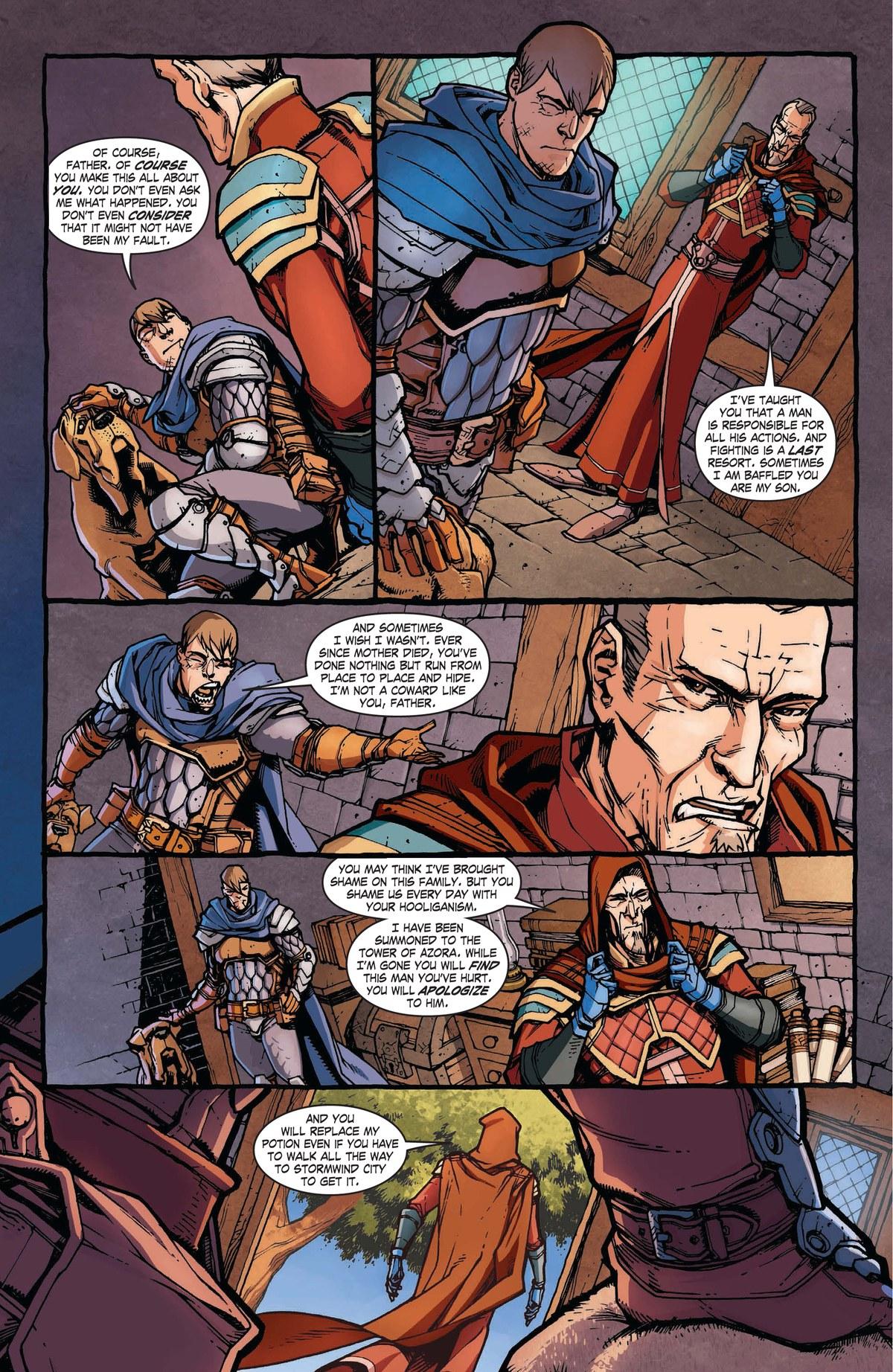 Read online World of Warcraft: Dark Riders comic -  Issue # Full - 15