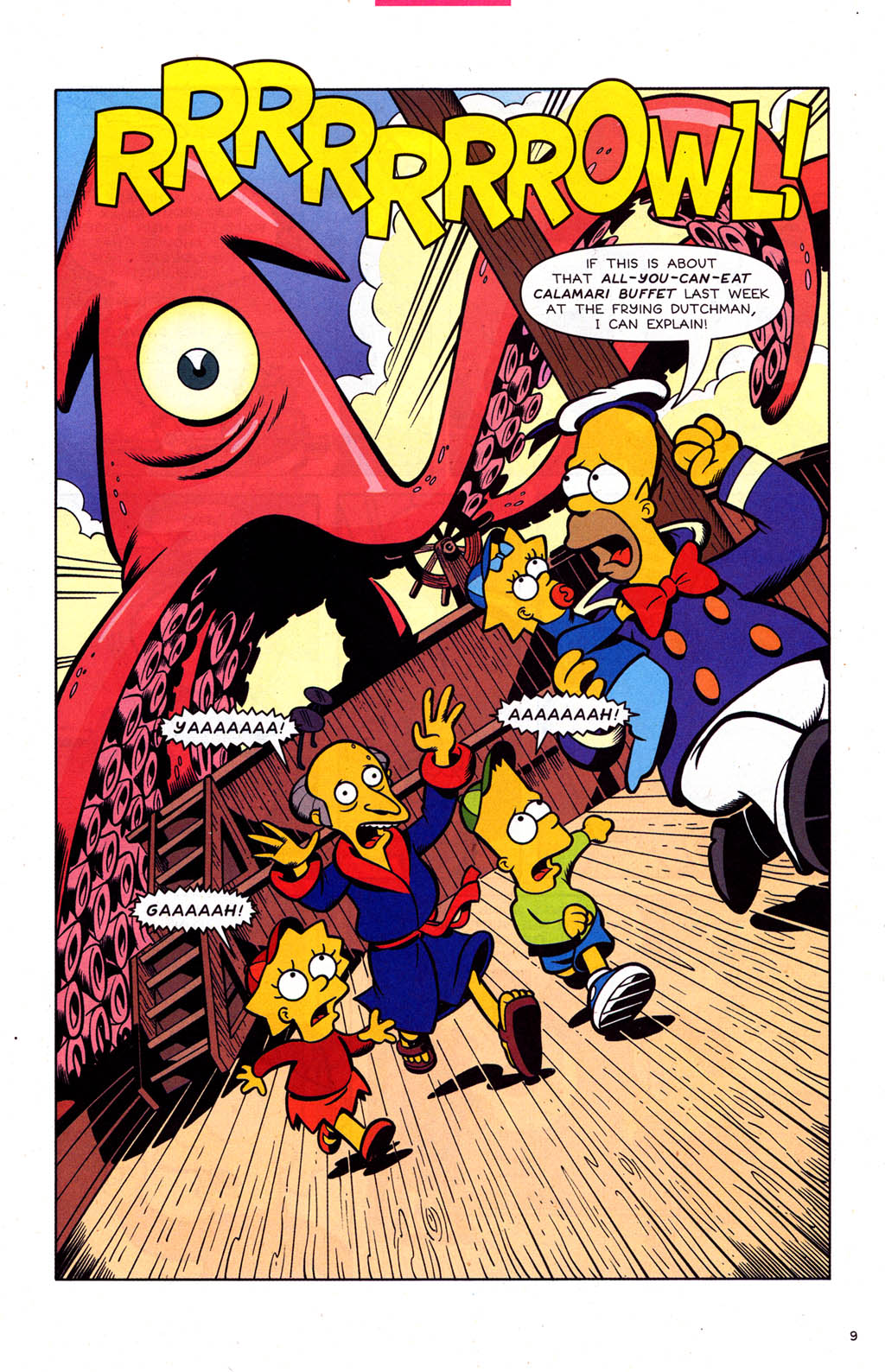 Read online Simpsons Comics comic -  Issue #102 - 10
