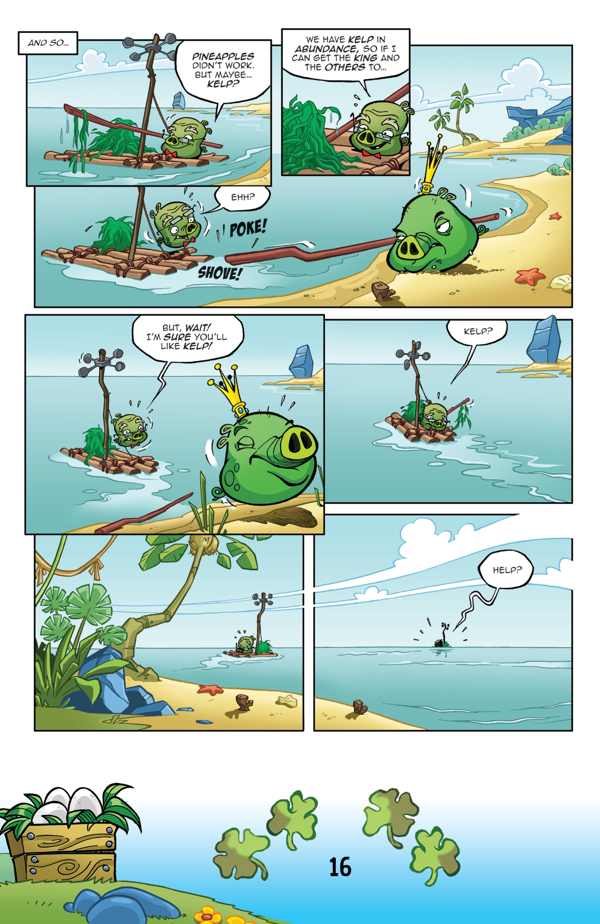 Read online Angry Birds Comics (2016) comic -  Issue #3 - 18