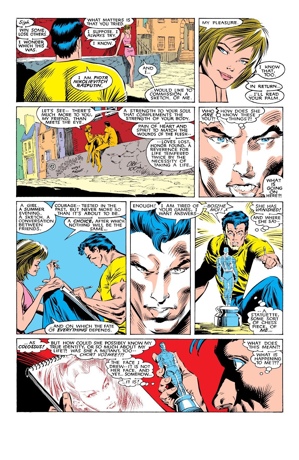 Read online X-Men Milestones: Fall of the Mutants comic -  Issue # TPB (Part 1) - 8