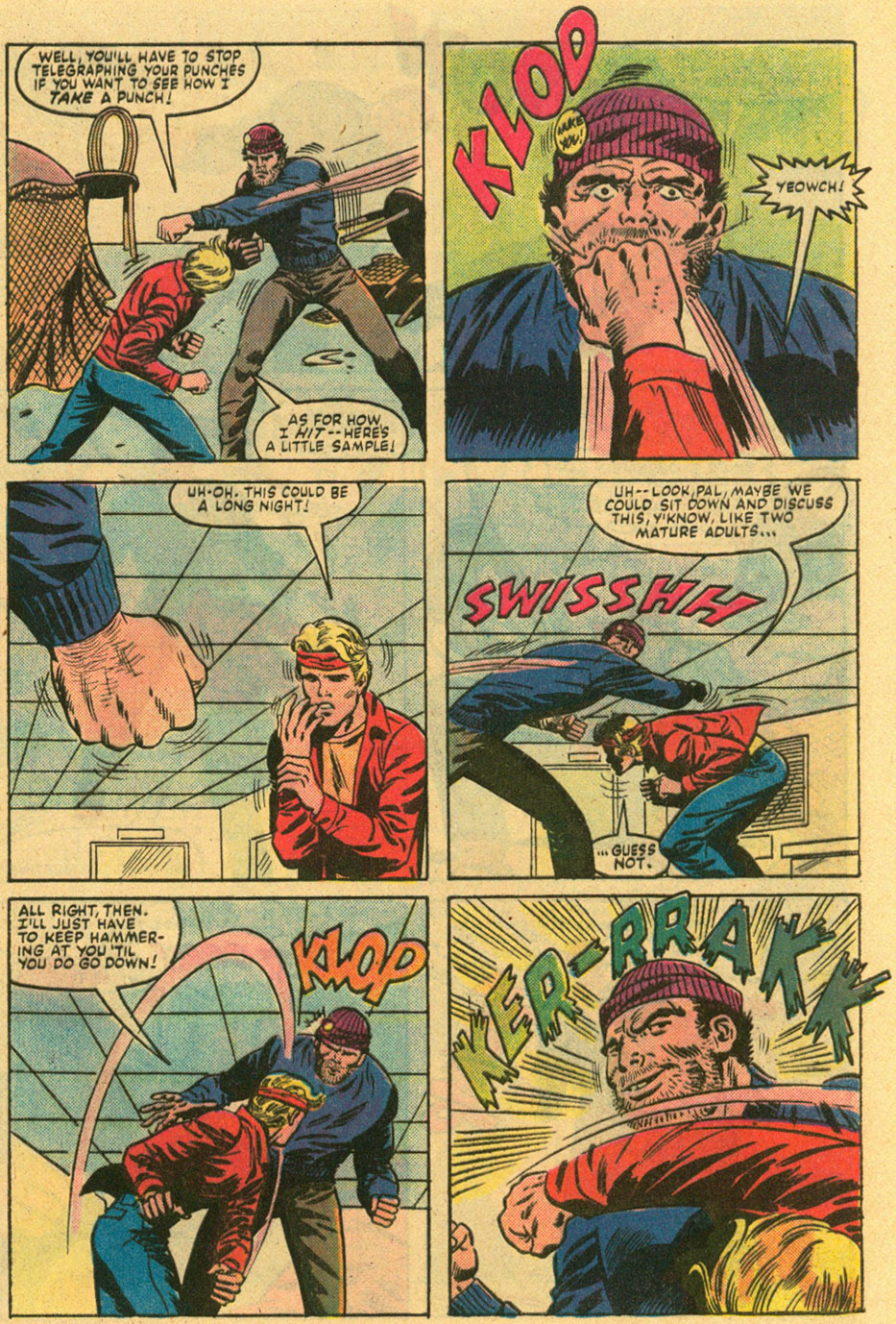 Read online U.S. 1 comic -  Issue #2 - 5