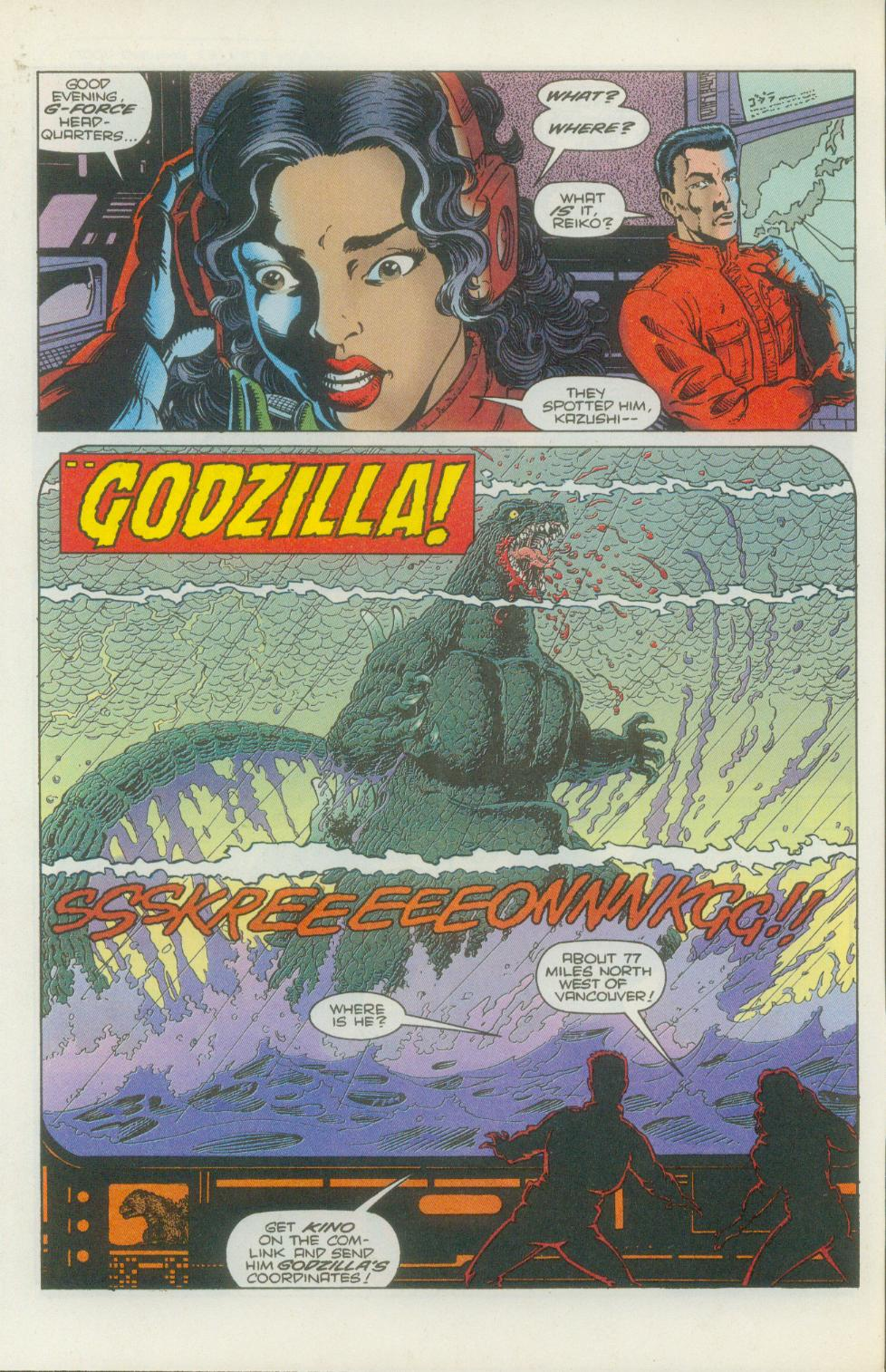 Godzilla (1995) Issue #1 #2 - English 7