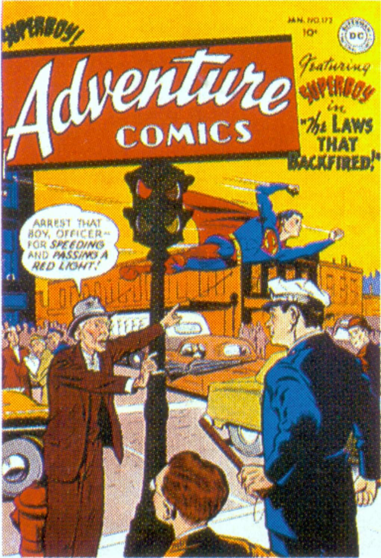 Read online Adventure Comics (1938) comic -  Issue #172 - 1